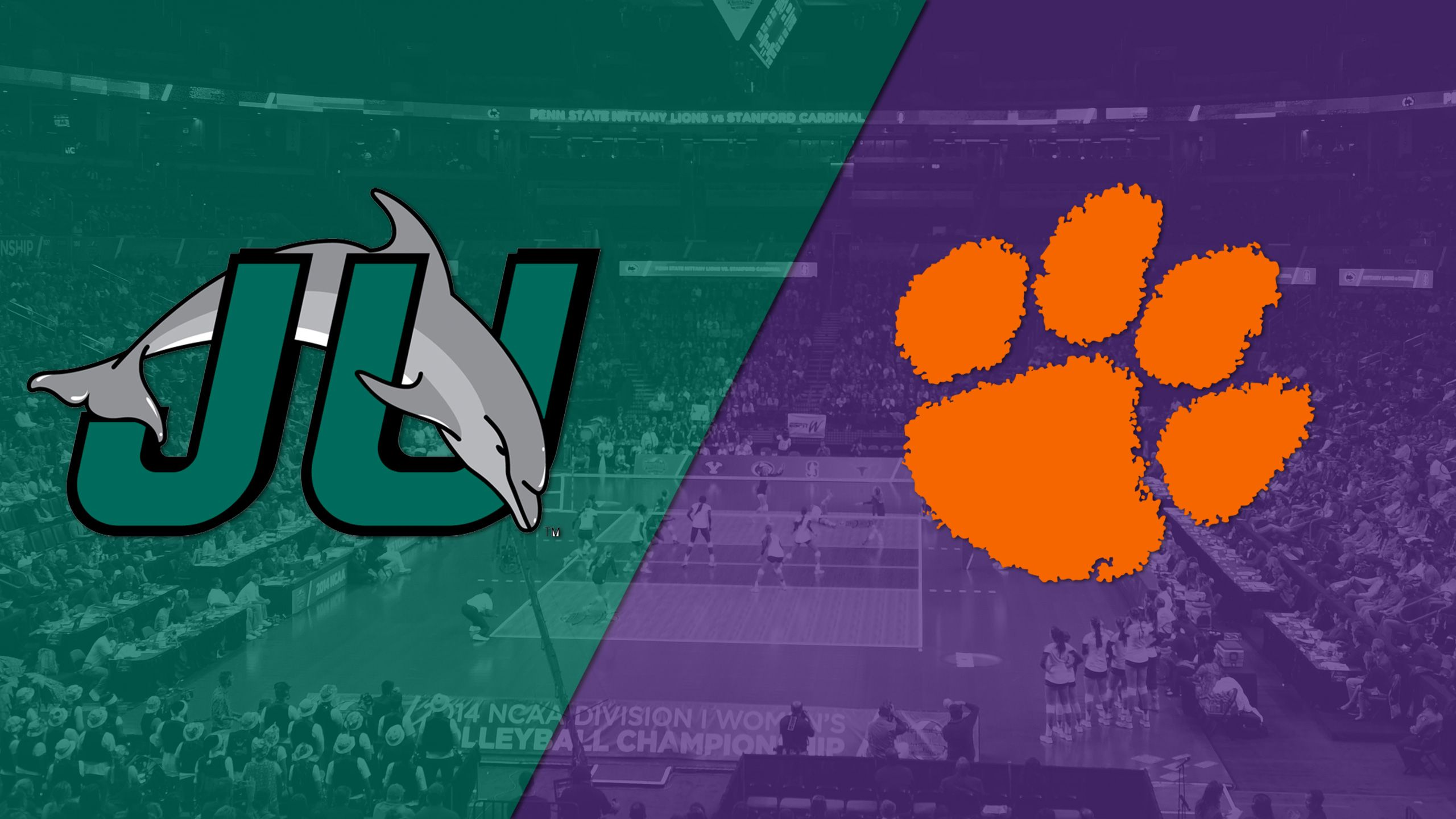 Jacksonville vs. Clemson (W Volleyball)