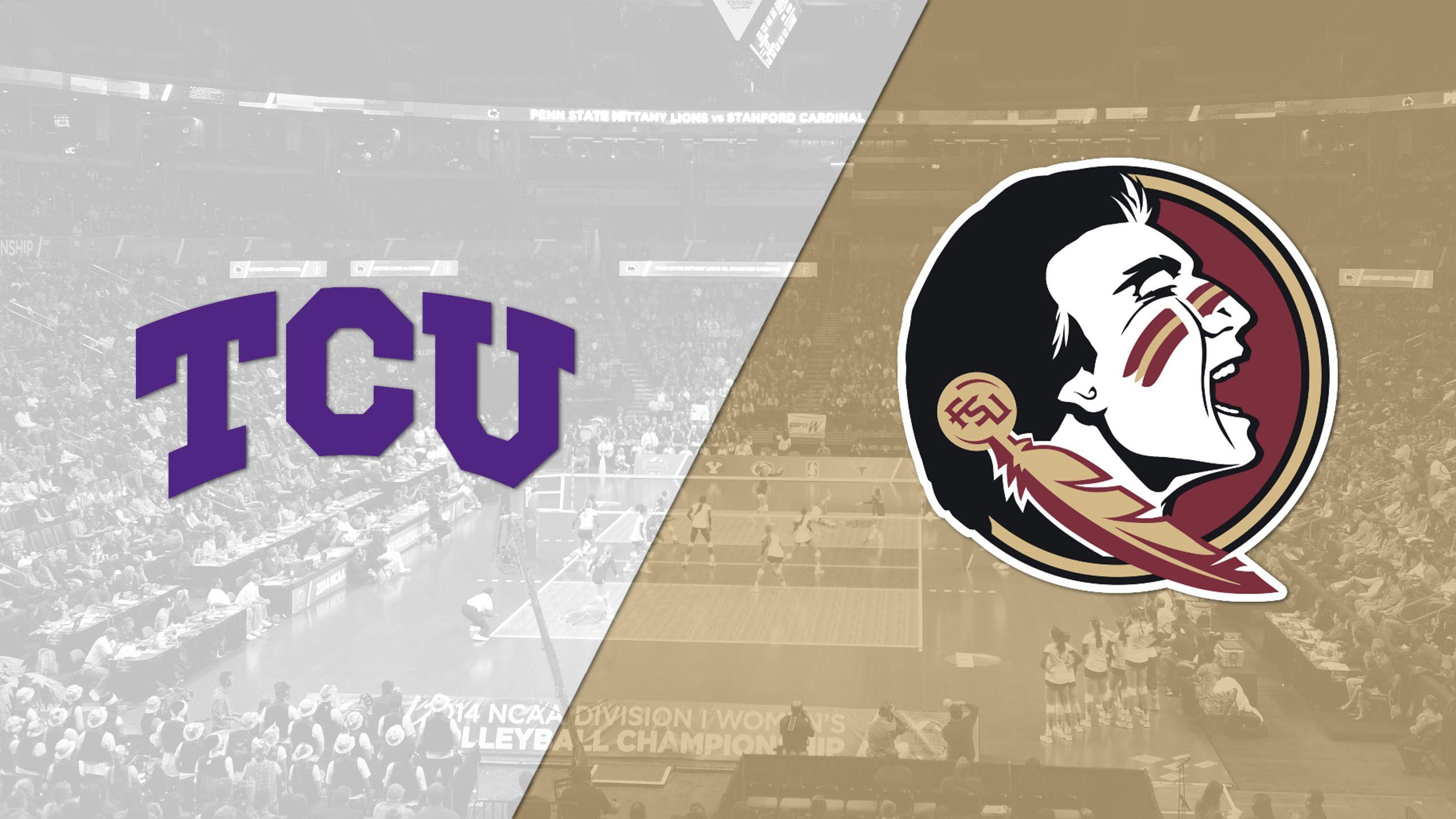 TCU vs. #15 Florida State (W Volleyball)