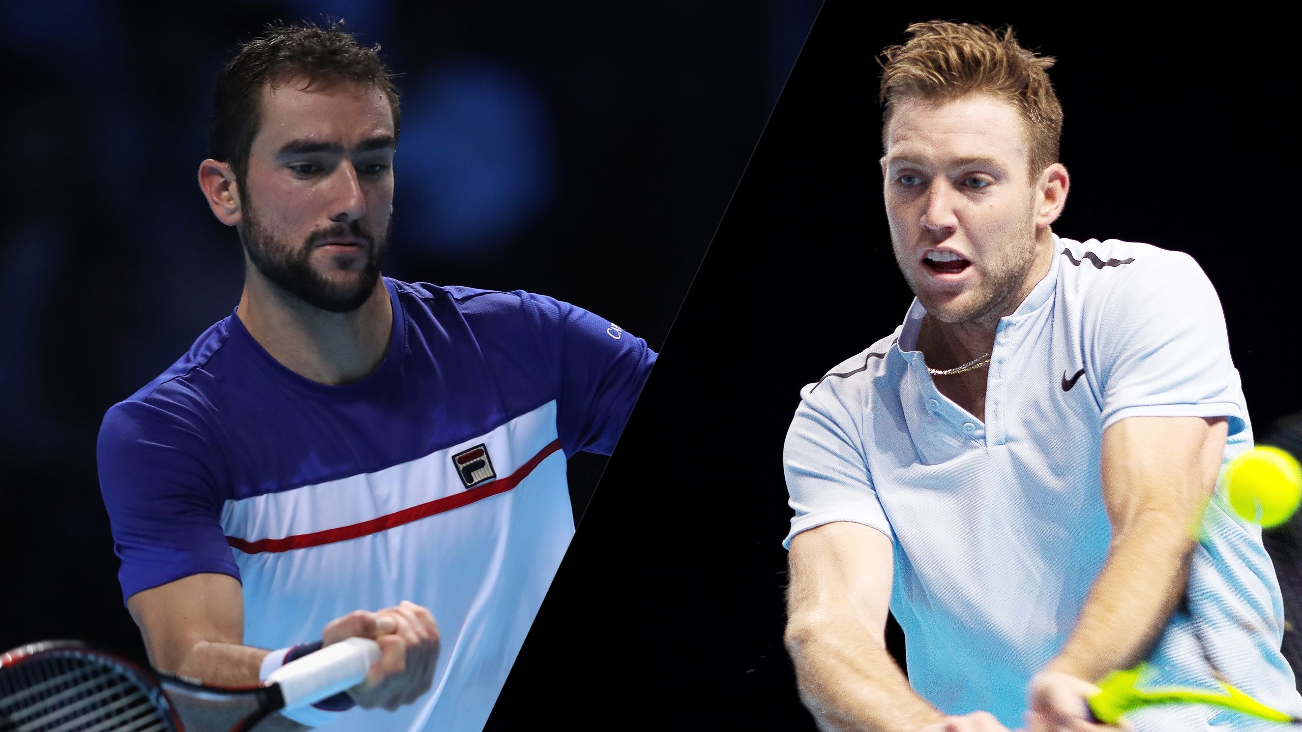 M. Cilic vs. J. Sock - Nitto ATP Finals (Round Robin)