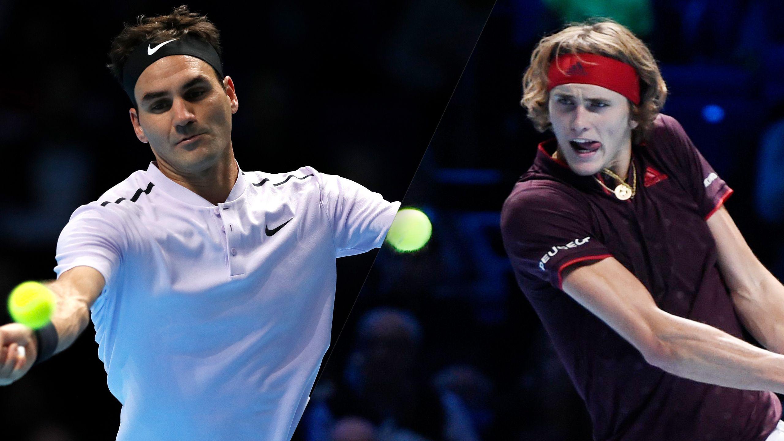 R. Federer vs. A. Zverev - Nitto ATP Finals (Round Robin)
