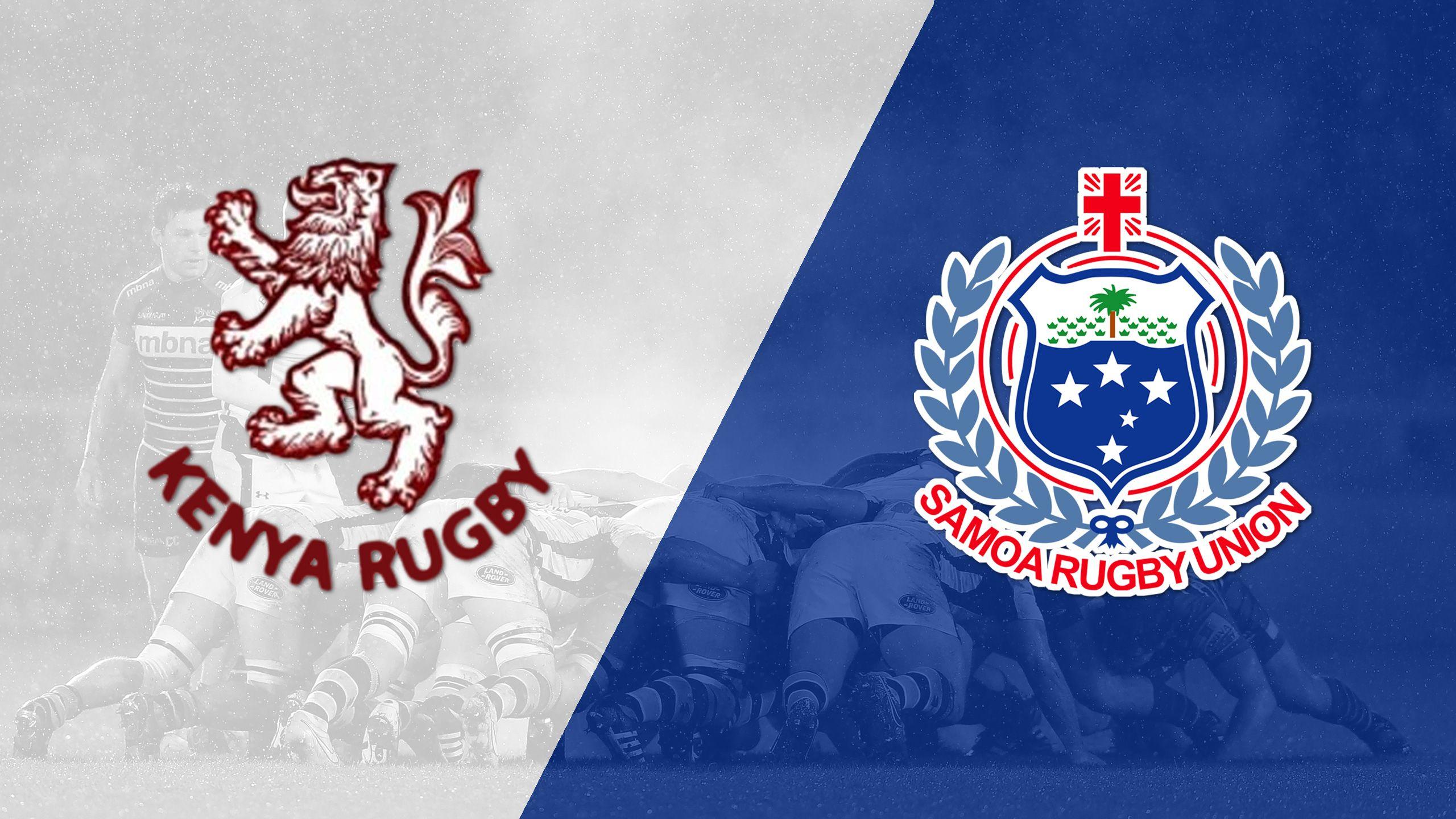Kenya vs. Samoa (Challenge Trophy Quarter Finals) (World Rugby Sevens Series)