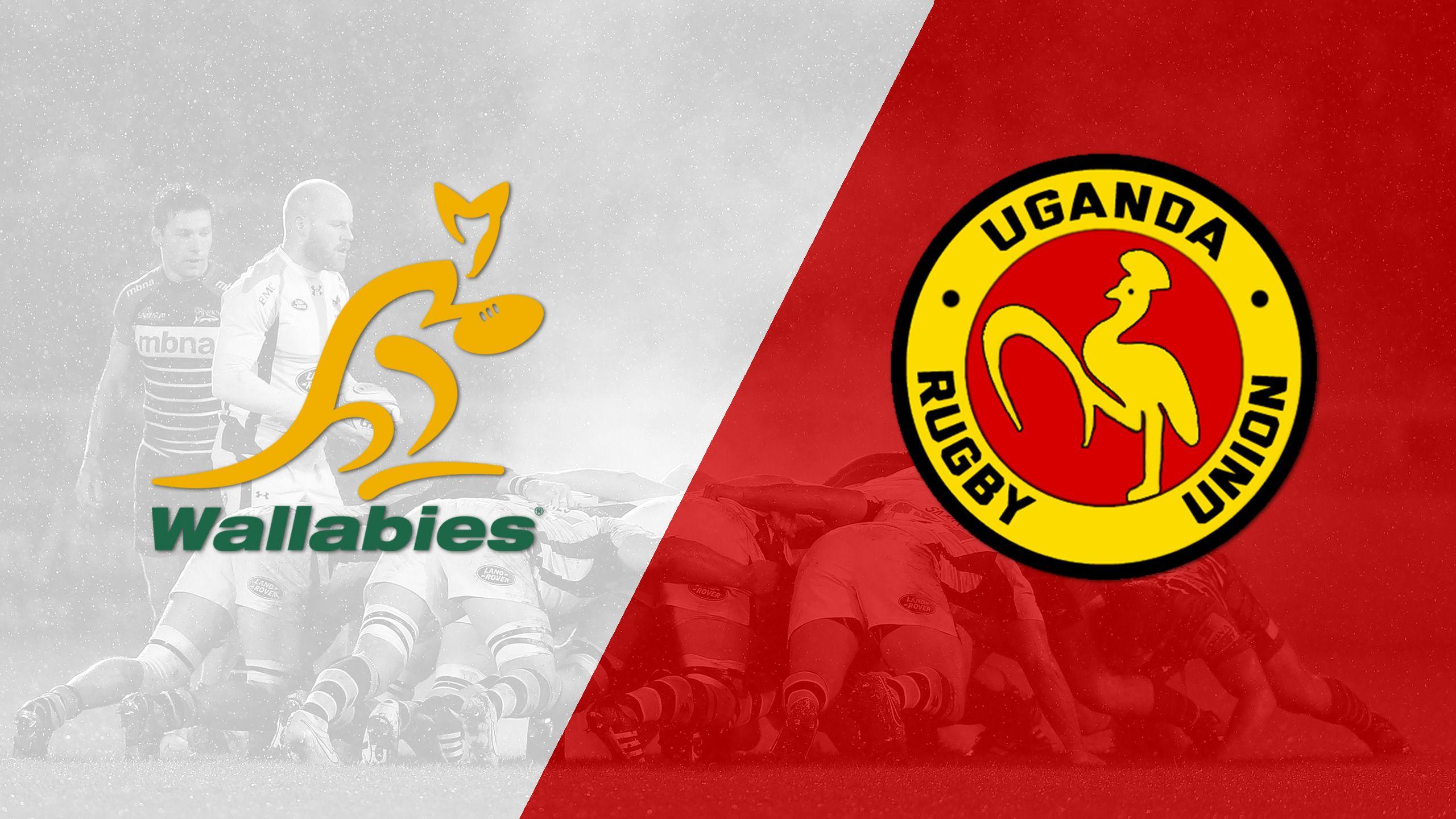 Australia vs. Uganda (Challenge Trophy Quarter Finals) (World Rugby Sevens Series)