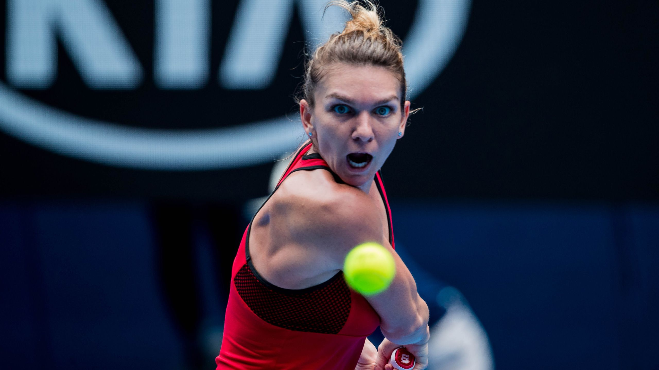 (1) Halep vs. Osaka (Women's Fourth Round)