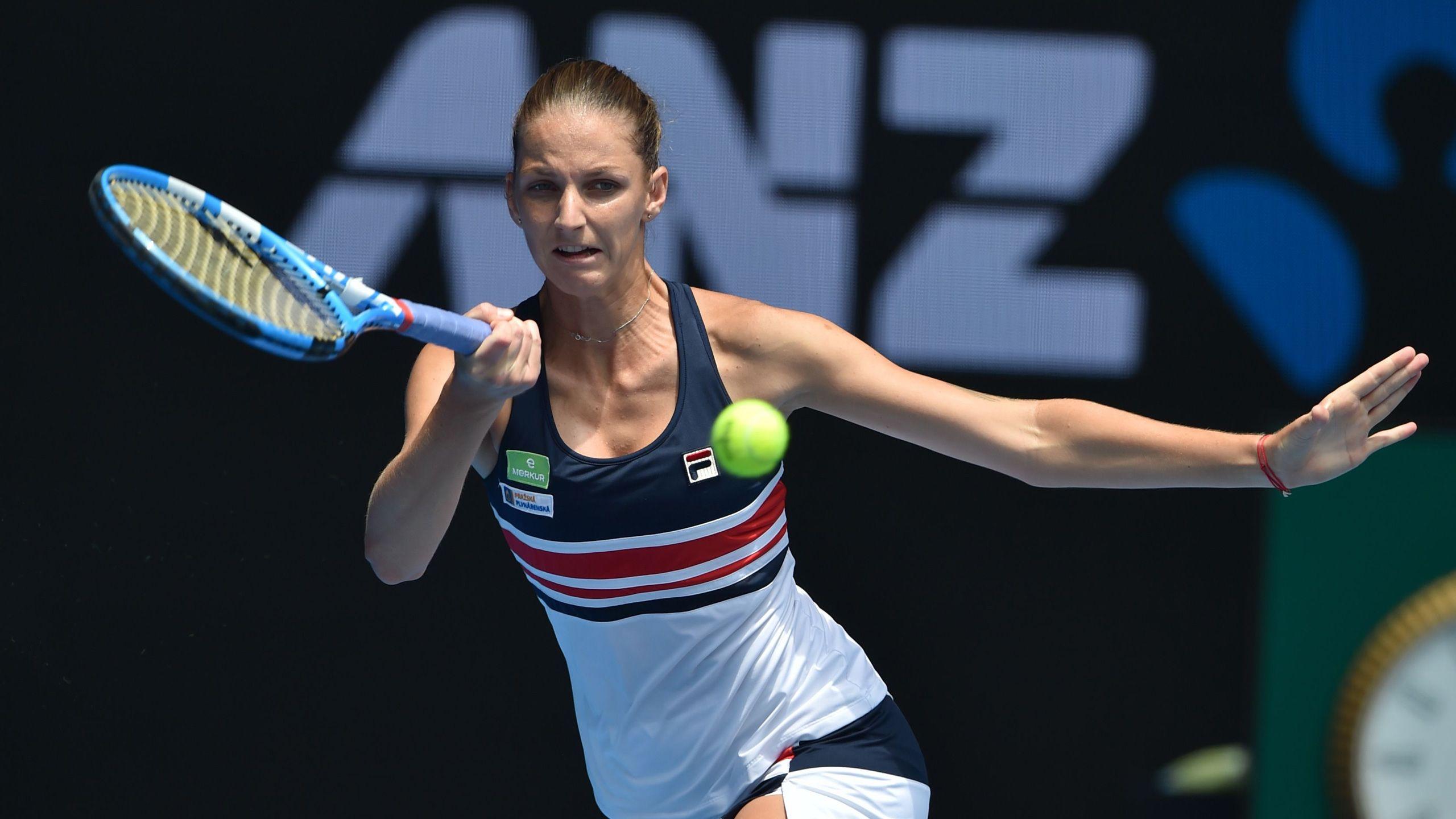 (6) Pliskova vs. (20) Strycova (Women's Fourth Round)