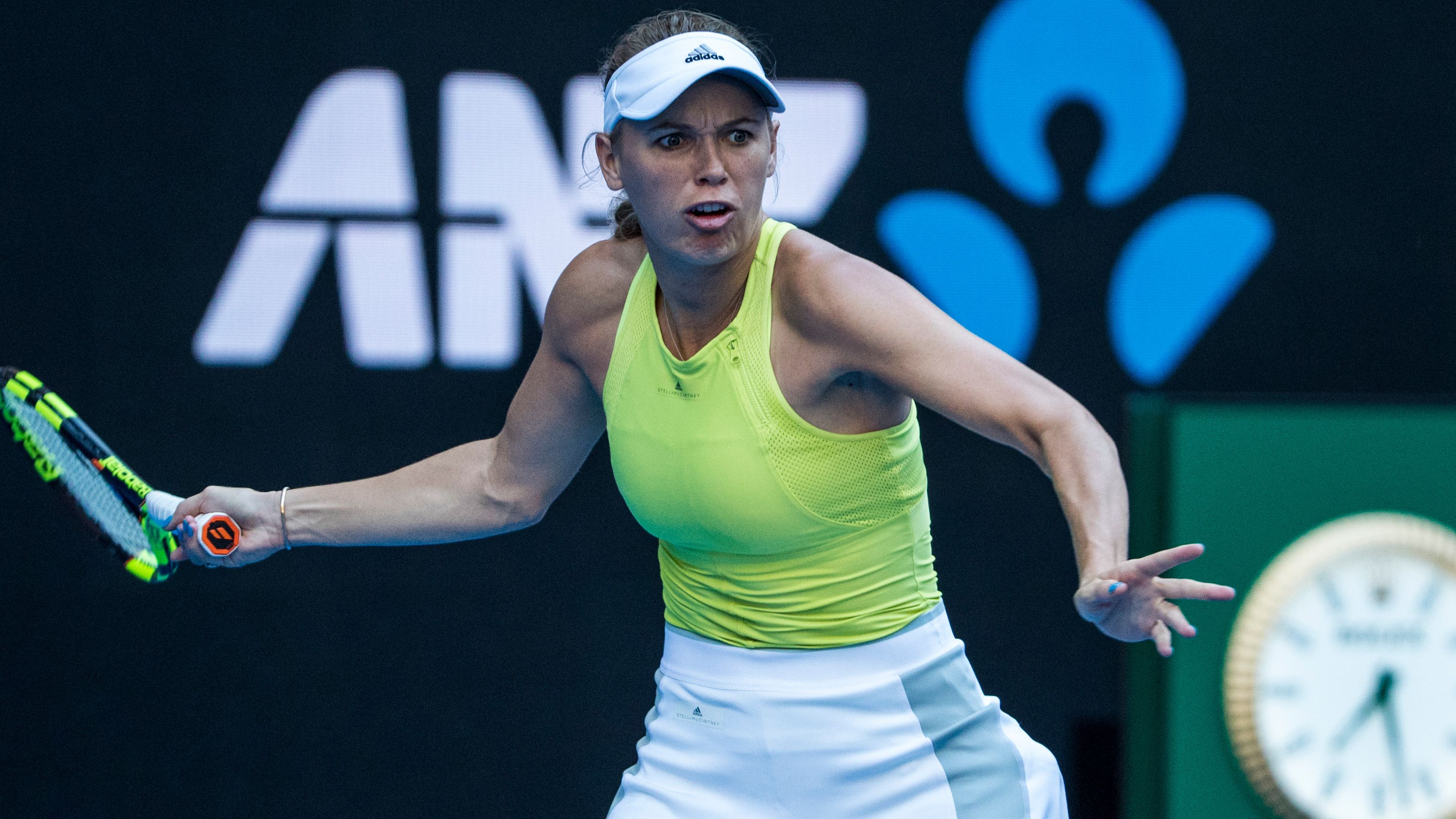 (2) Wozniacki vs. Fett (Women's Second Round)