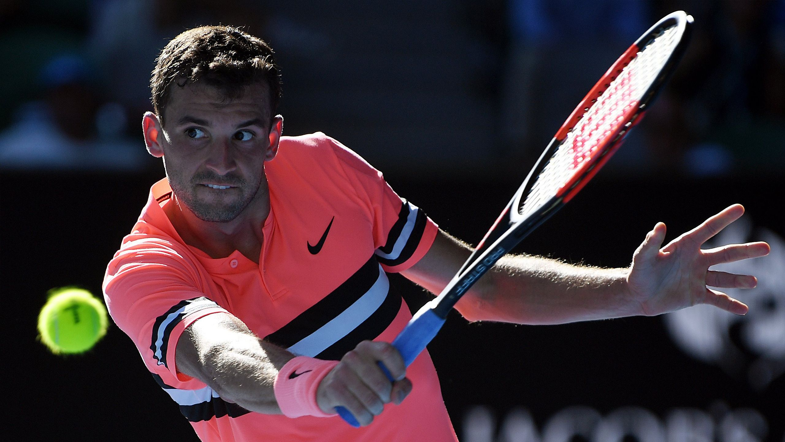 (3) Dimitrov vs. (17) Kyrgios (Men's Fourth Round)