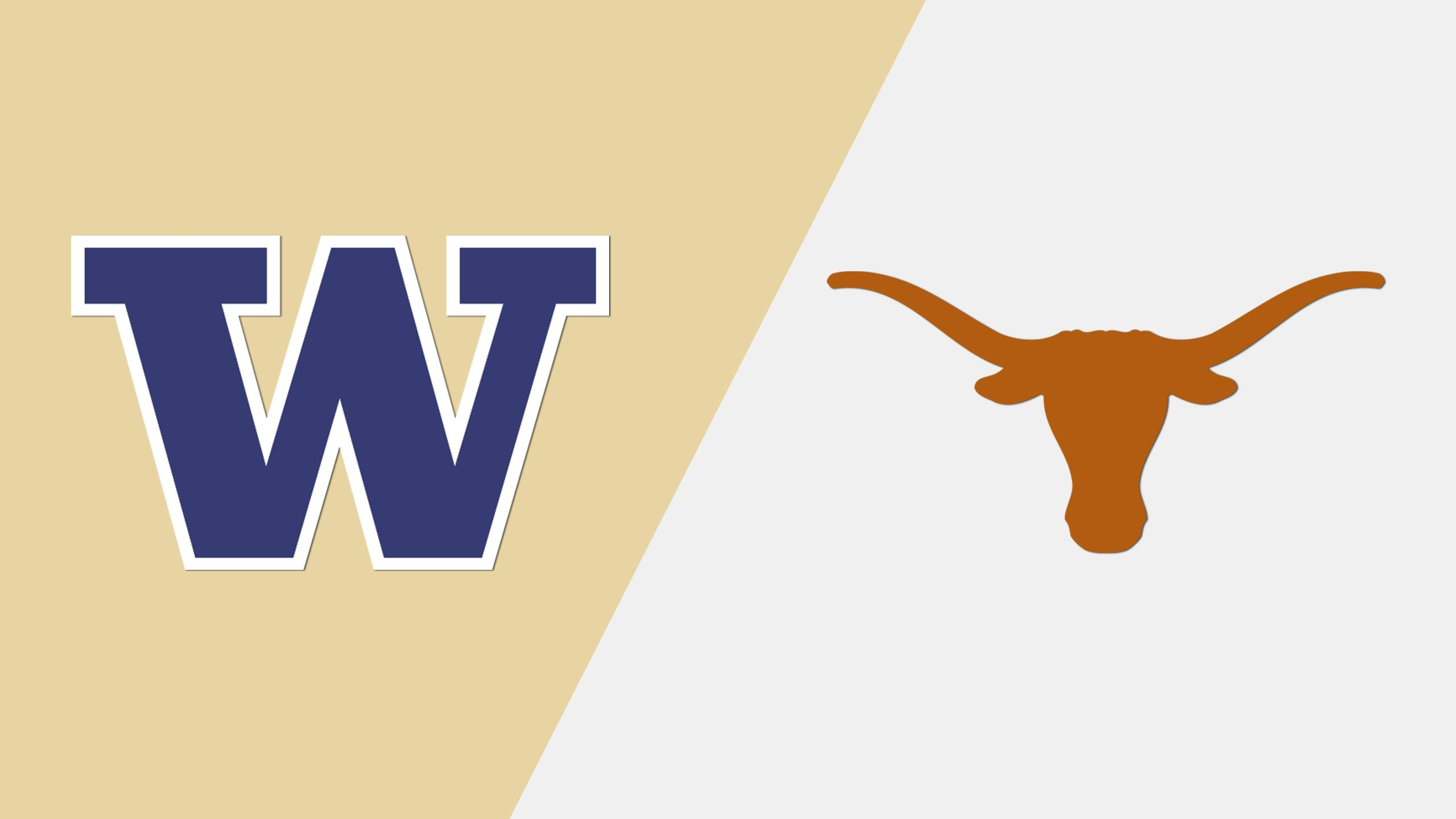 #5 Washington vs. Texas (Site 4 / Game 3) (NCAA Softball Championship) (re-air)