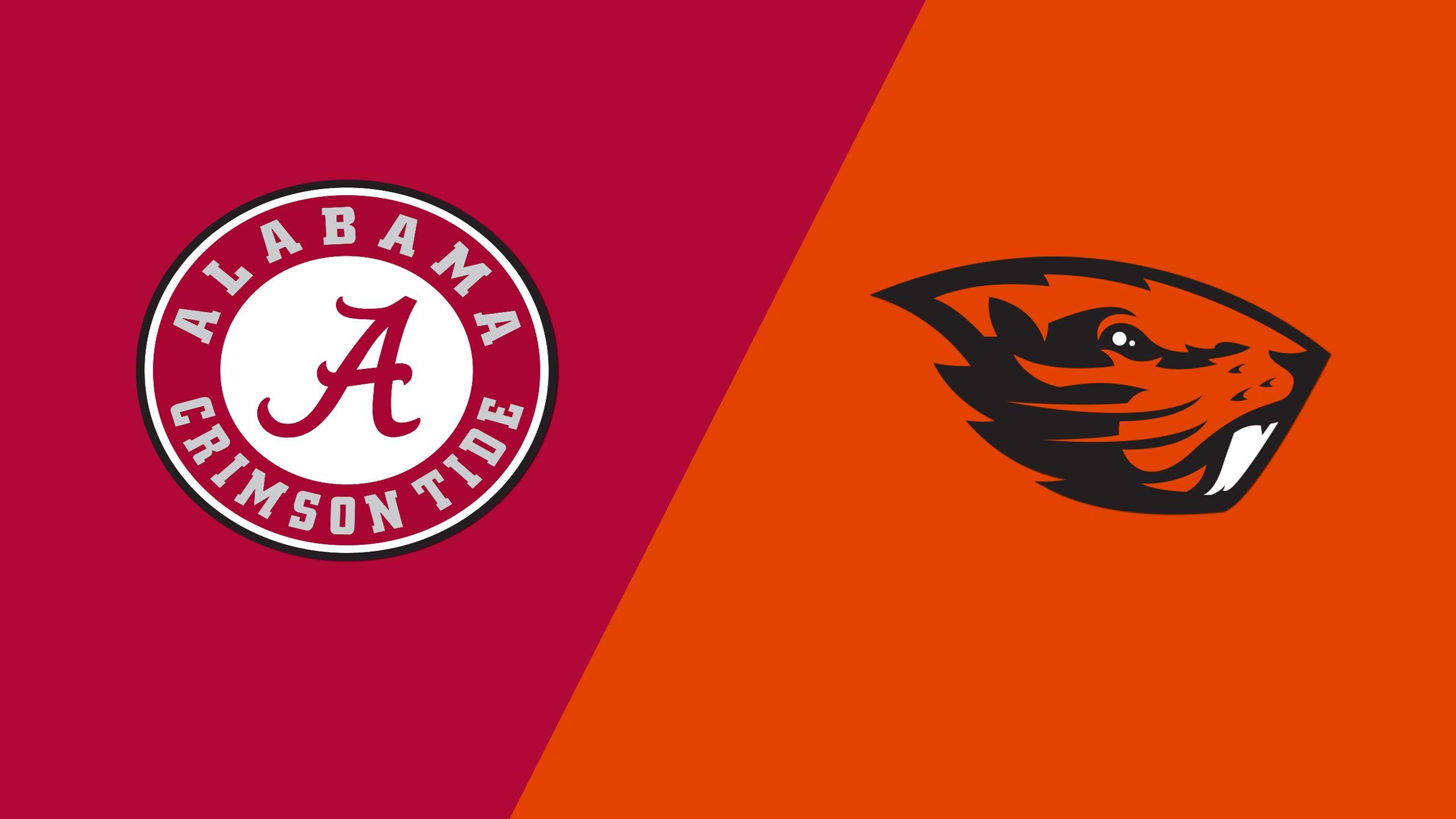 #12 Alabama vs. Oregon State (Site 12 / Game 6) (NCAA Softball Championship) (re-air)