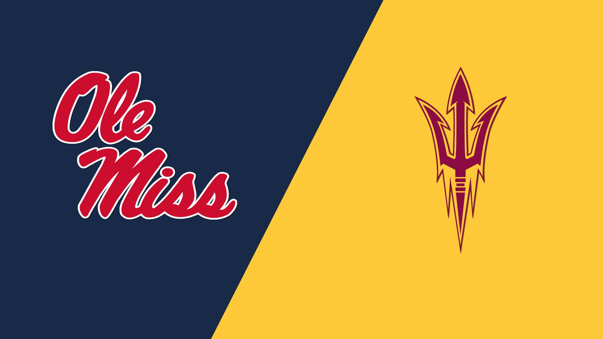 Ole Miss vs. #8 Arizona State (Site 3 / Game 6) (NCAA Softball Championship) (re-air)