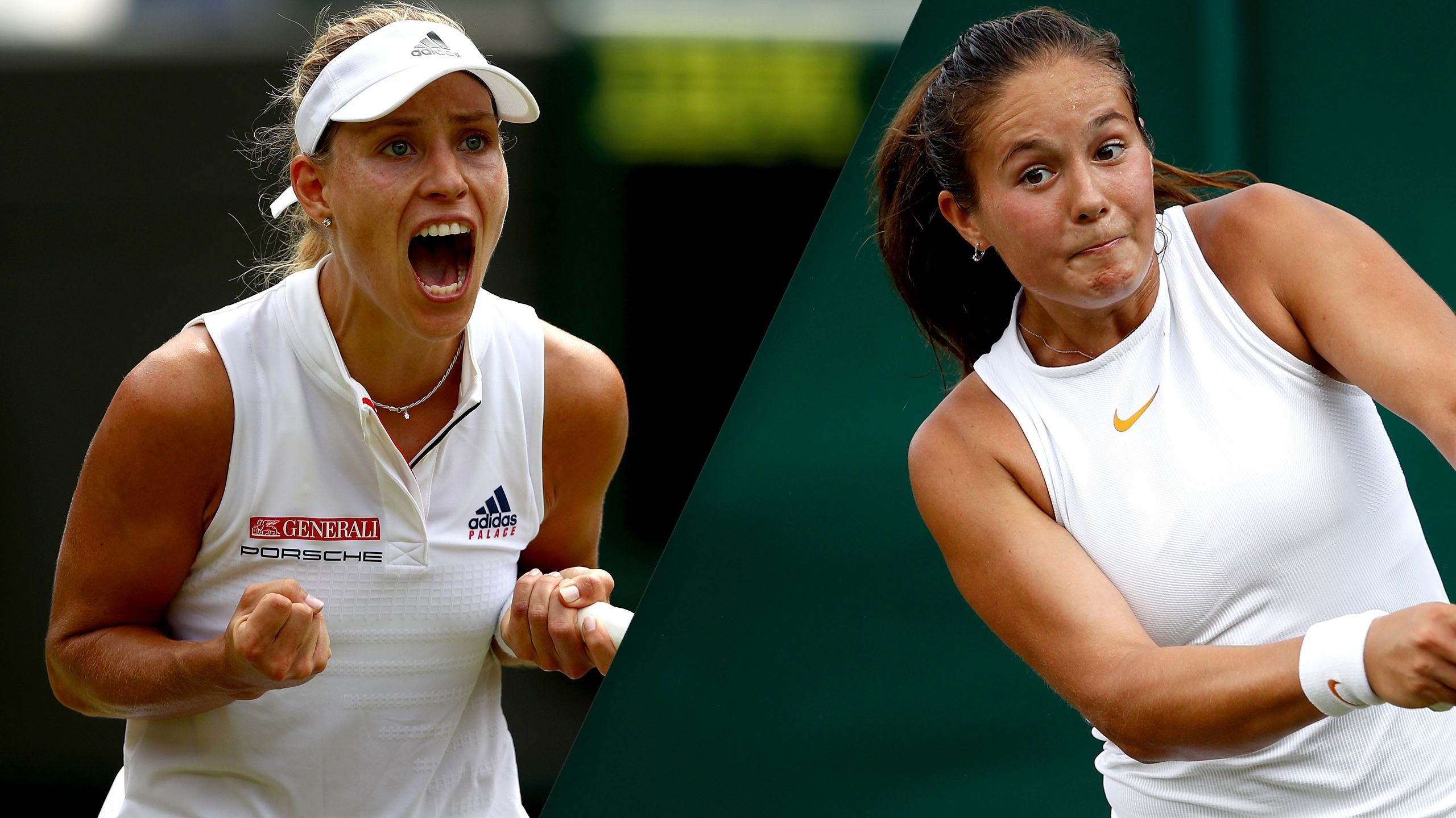 (11) Kerber vs. (14) Kasatkina (Ladies' Quarterfinals)