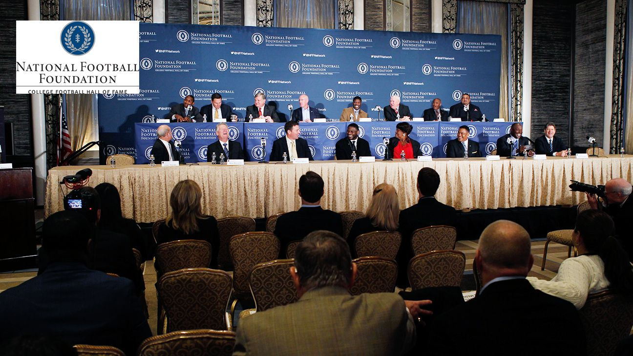 2015 National Football Foundation Awards Dinner Press Conference