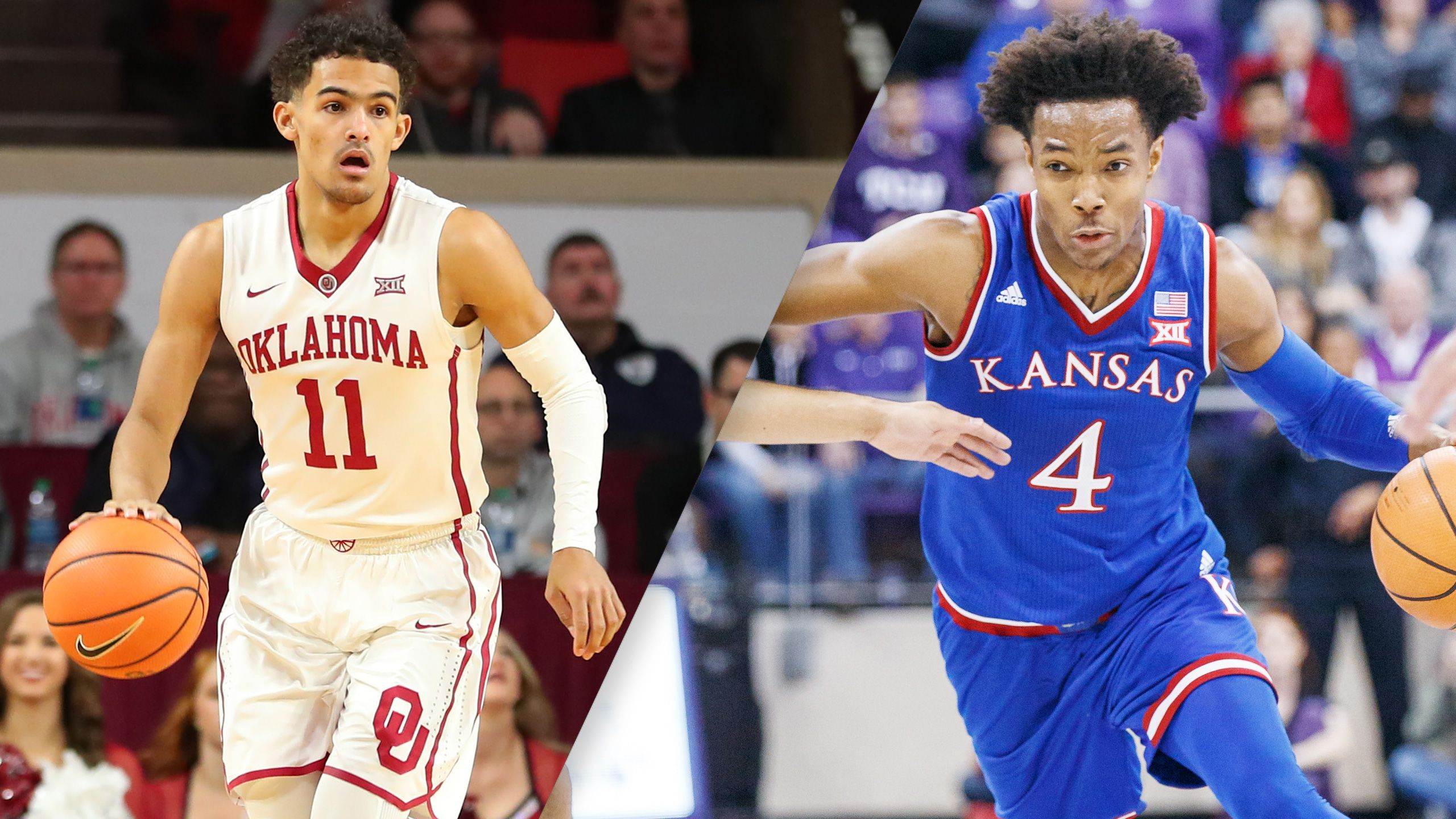 Oklahoma vs. #8 Kansas (M Basketball)