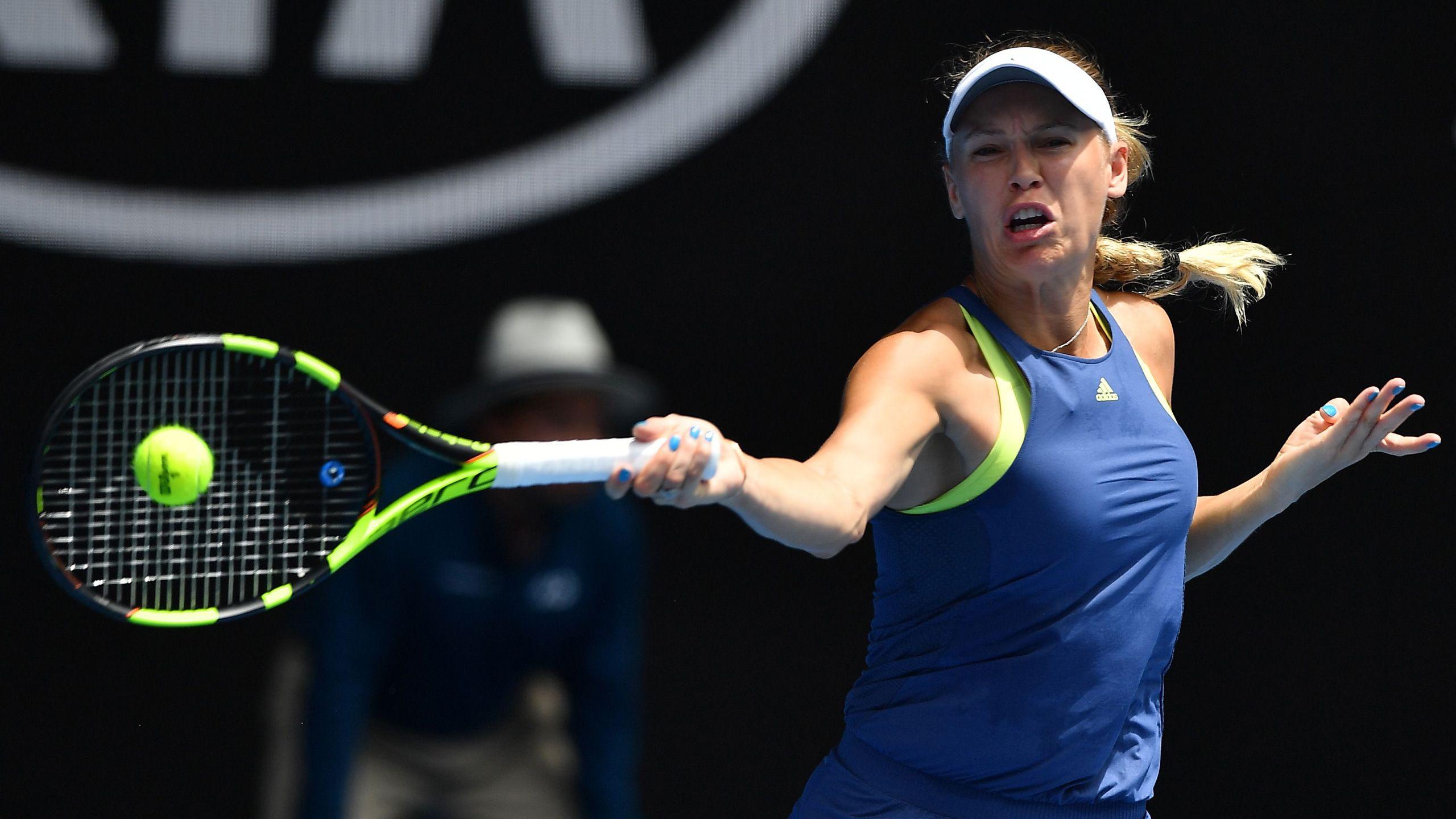 (2) Wozniacki vs. Suarez Navarro (Women's Quarterfinals)