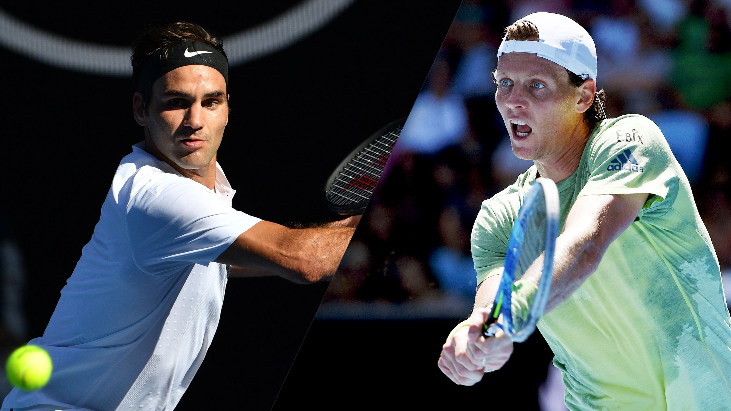 (2) Federer vs. (19) Berdych (Men's Quarterfinals)
