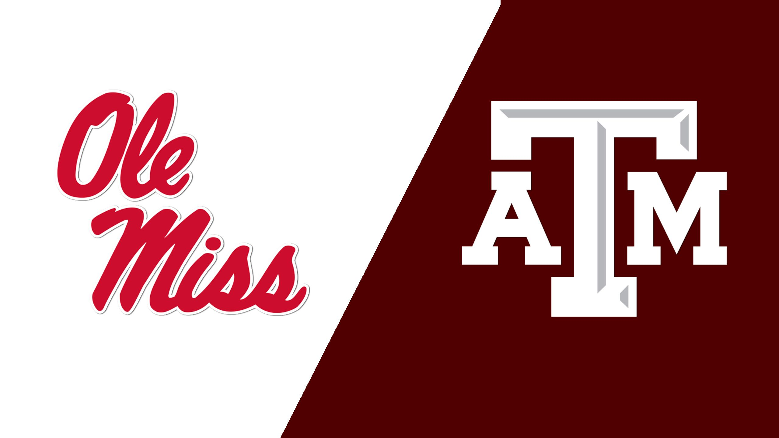 #4 Ole Miss vs. Texas A&M (Semifinal #1) (SEC Baseball Tournament)