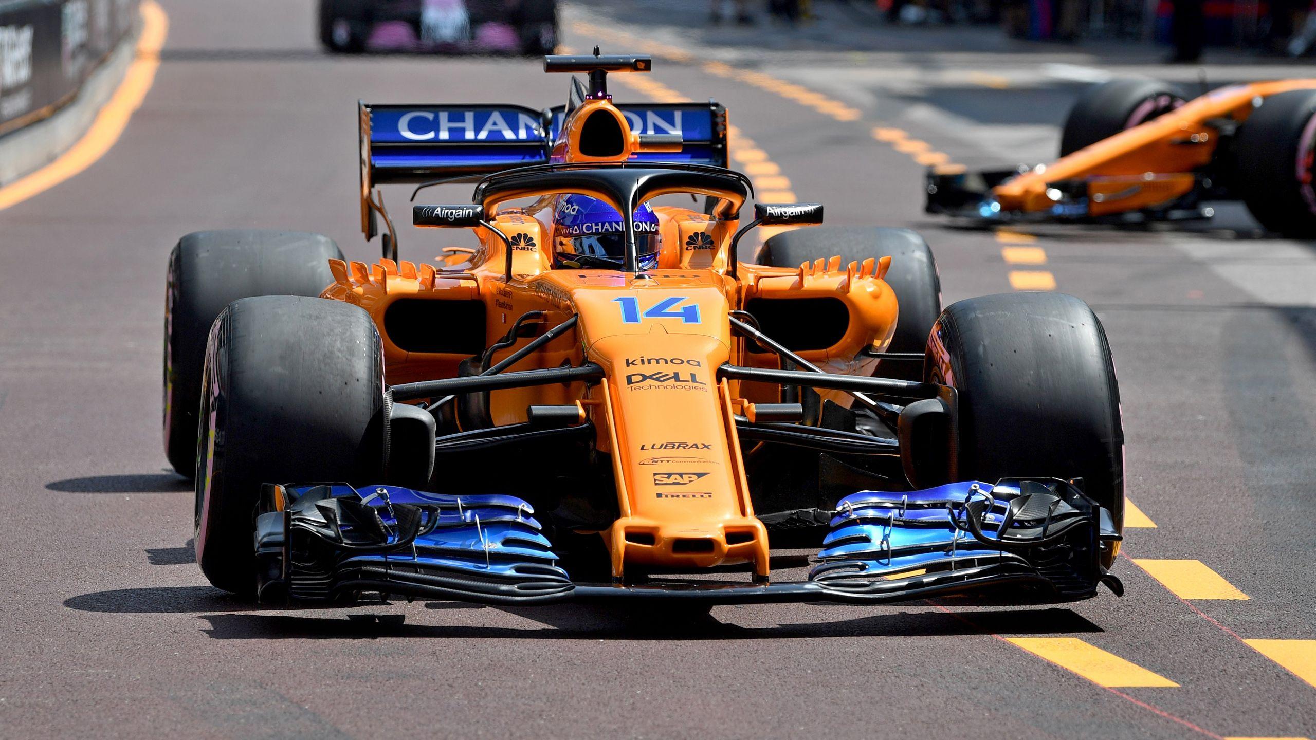 Formula 1 Monaco Grand Prix Practice 3