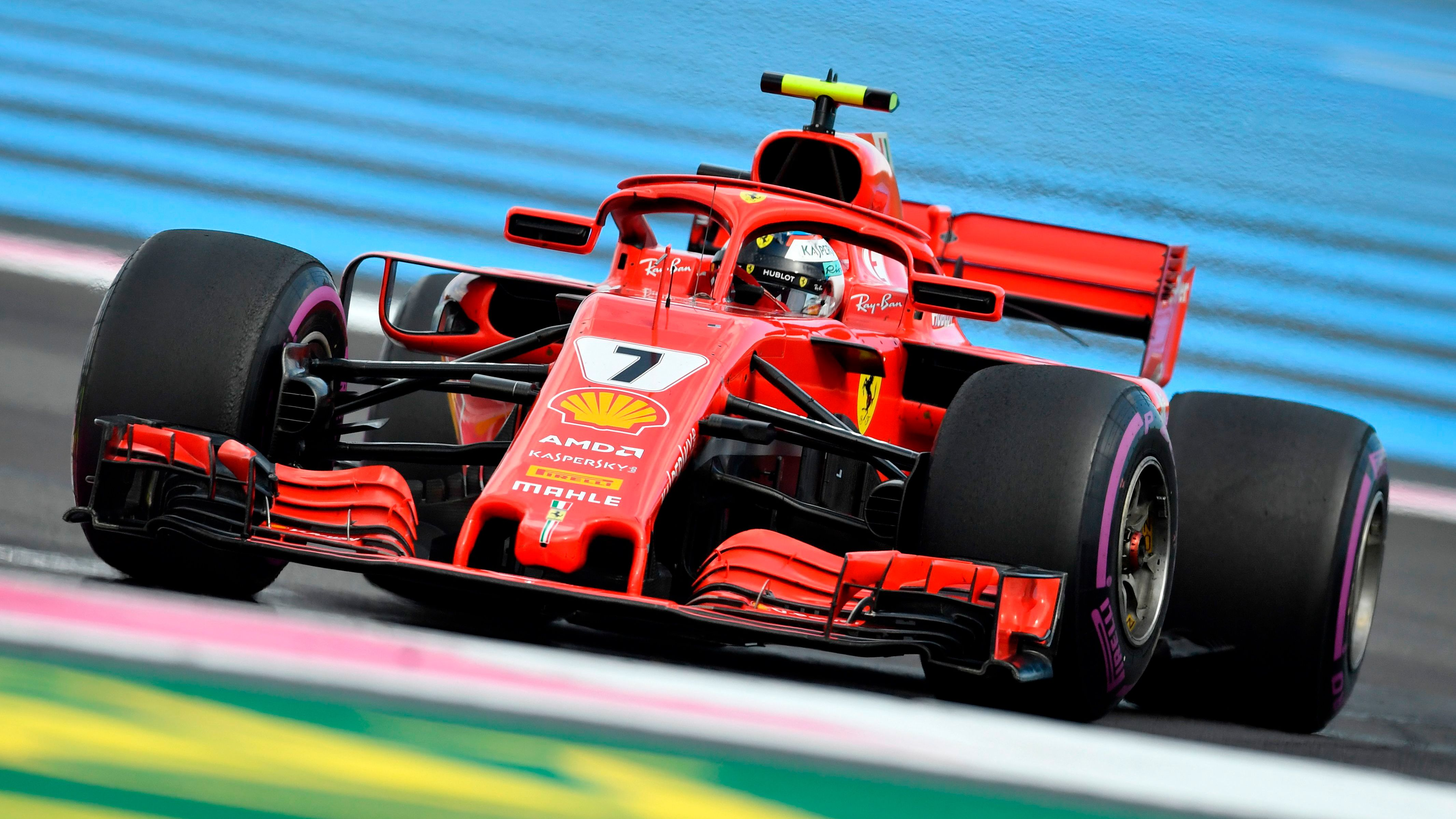 Formula 1 Pirelli French Grand Prix Practice 2