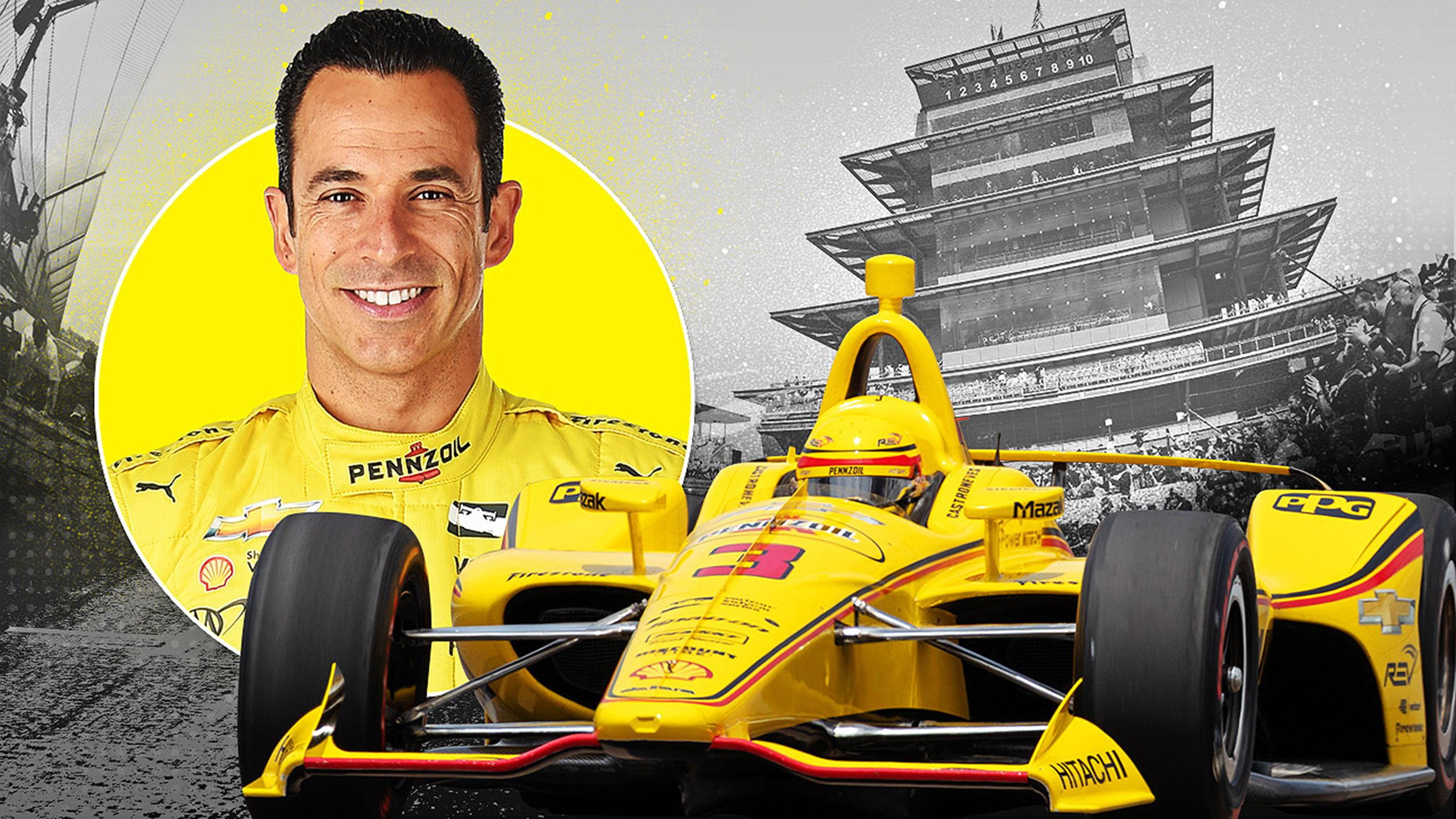 H. Castroneves - Indianapolis 500 Pennzoil On Board Camera