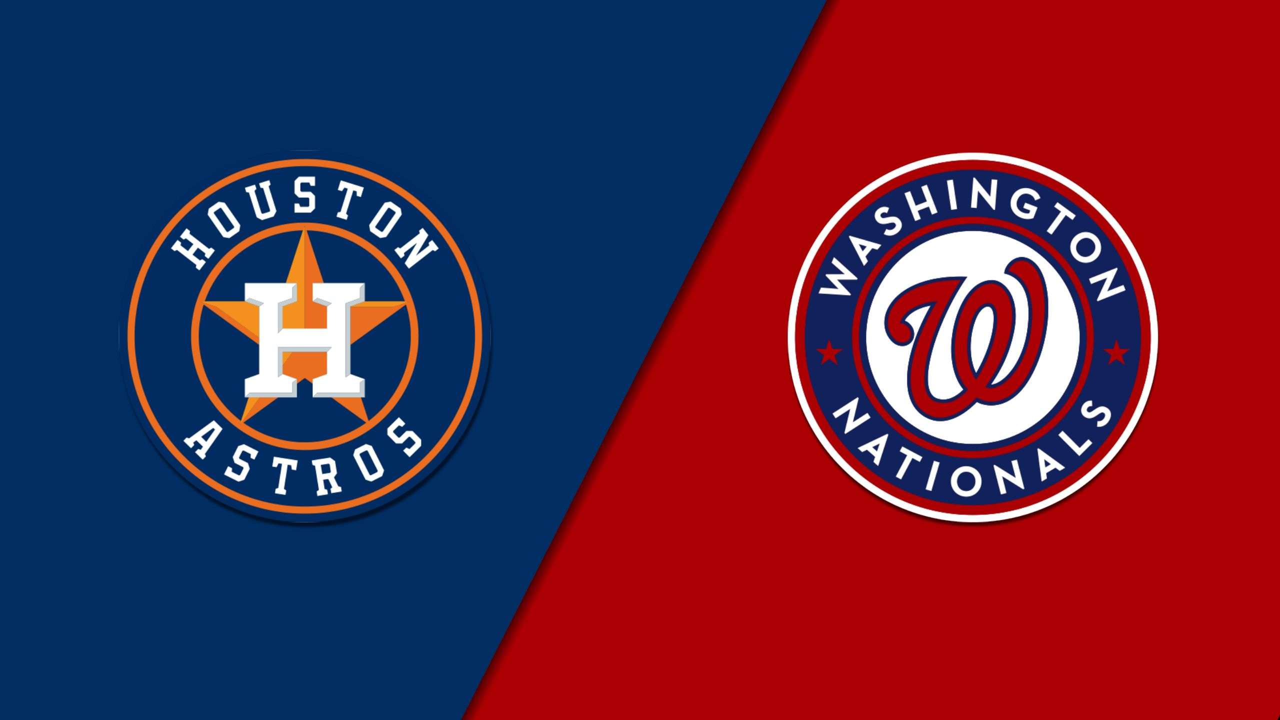 In Spanish - Houston Astros vs. Washington Nationals