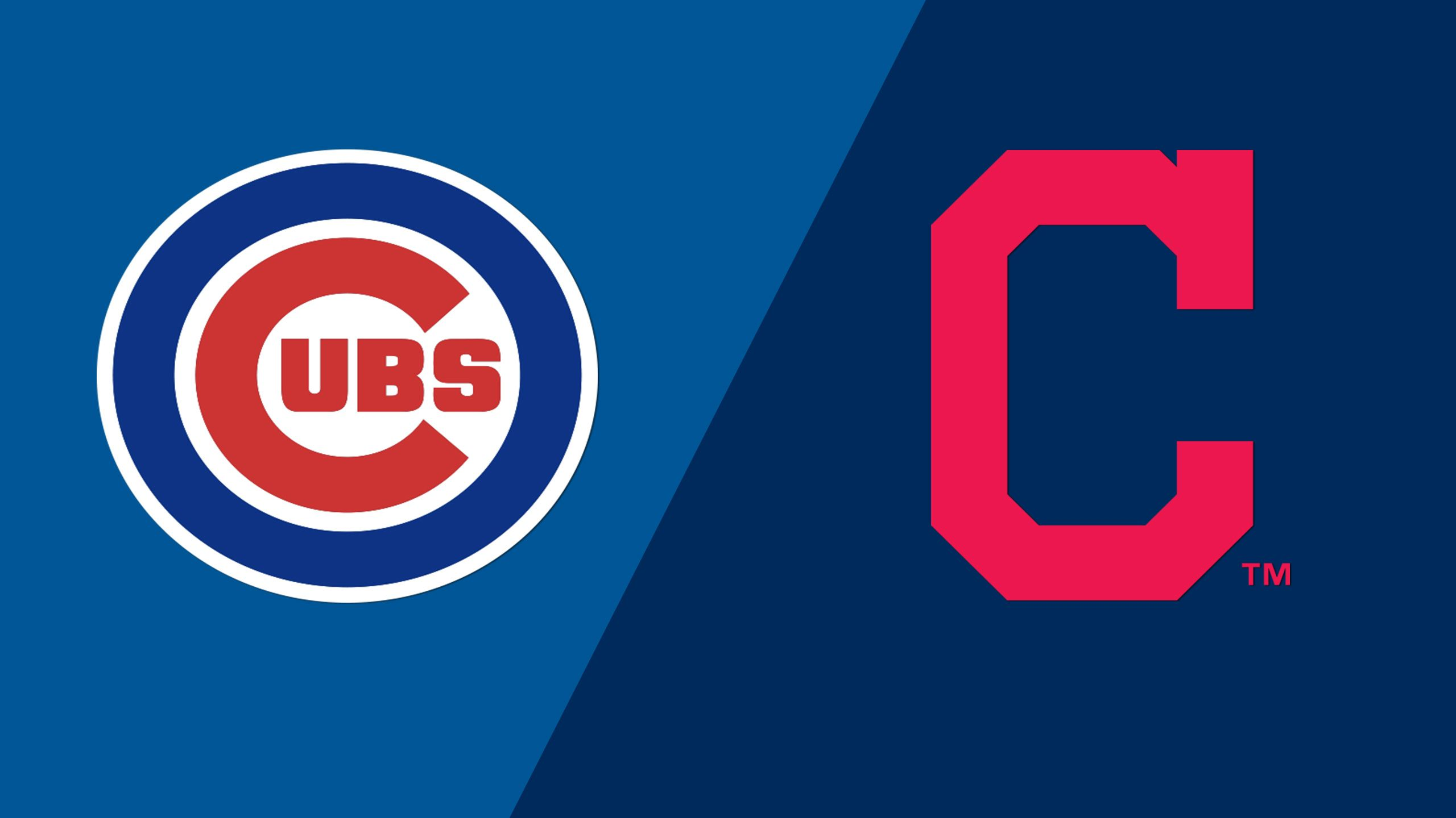 In Spanish - Chicago Cubs vs. Cleveland Indians