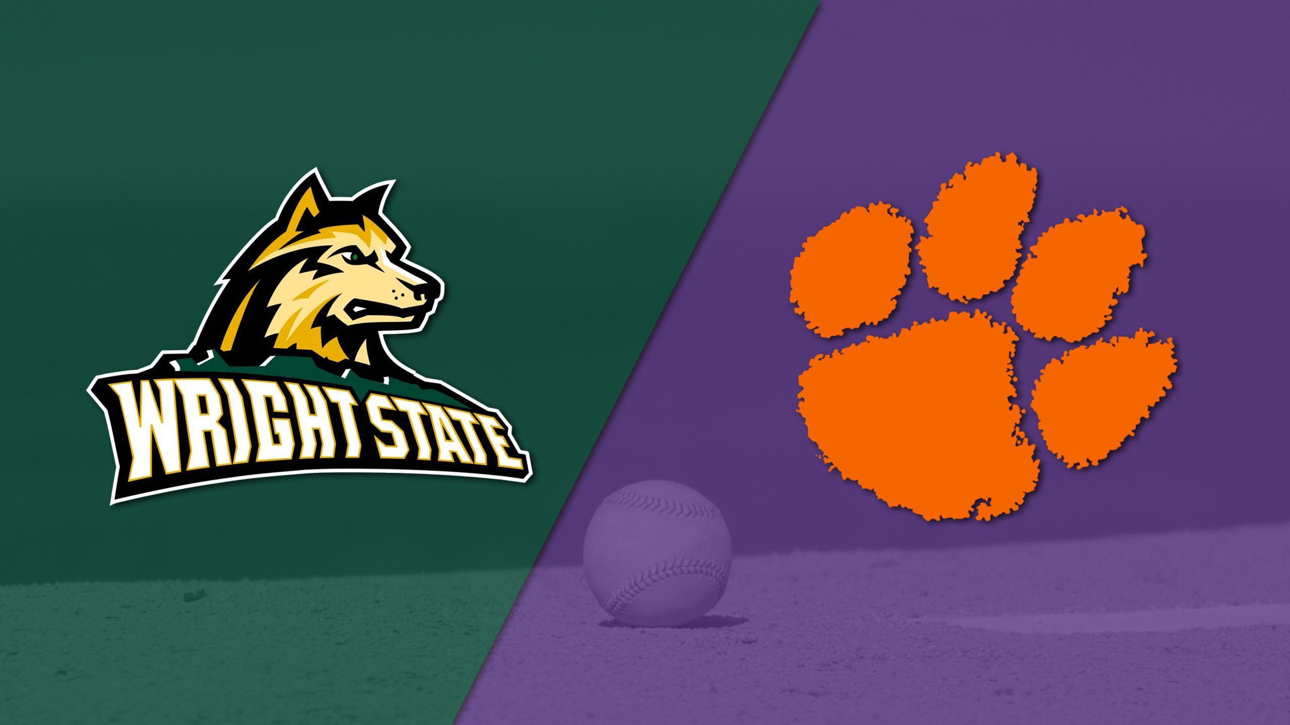 Wright State vs. #12 Clemson (Baseball)