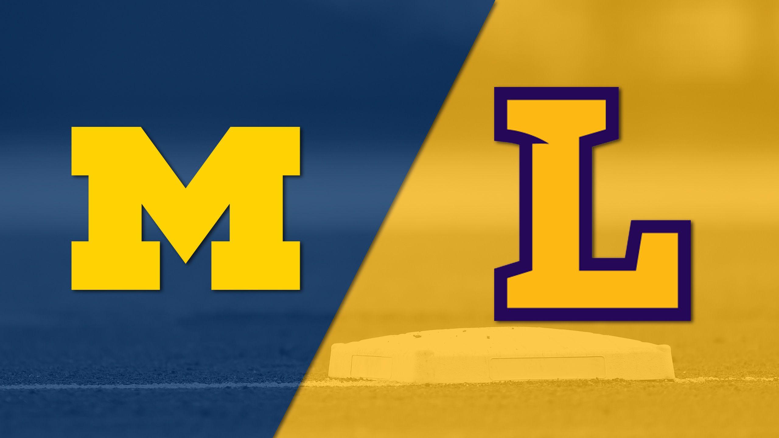 Michigan vs. Lipscomb (Baseball)