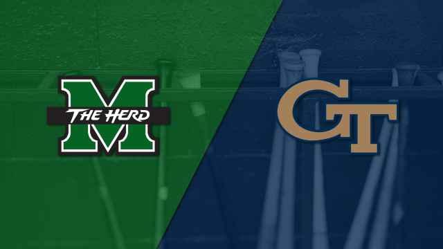 Marshall vs. Georgia Tech (Baseball)