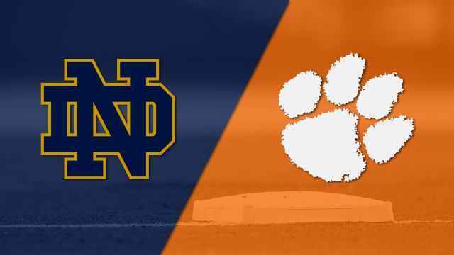 Notre Dame vs. #11 Clemson (Baseball)