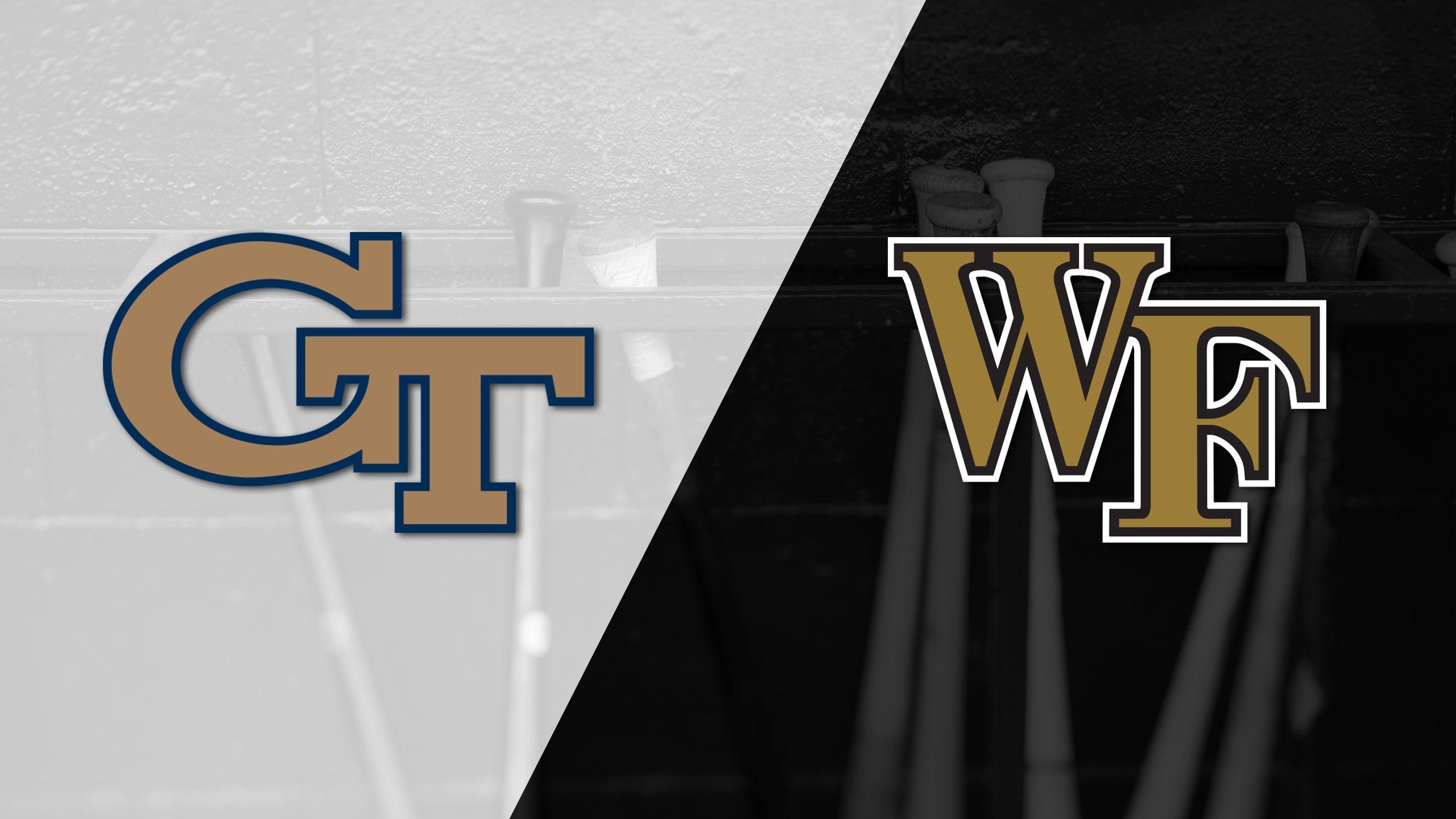 Georgia Tech vs. Wake Forest (Baseball)