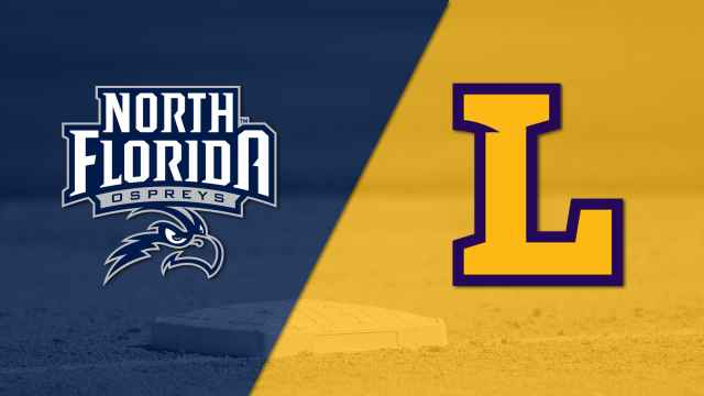 North Florida vs. Lipscomb (Baseball)