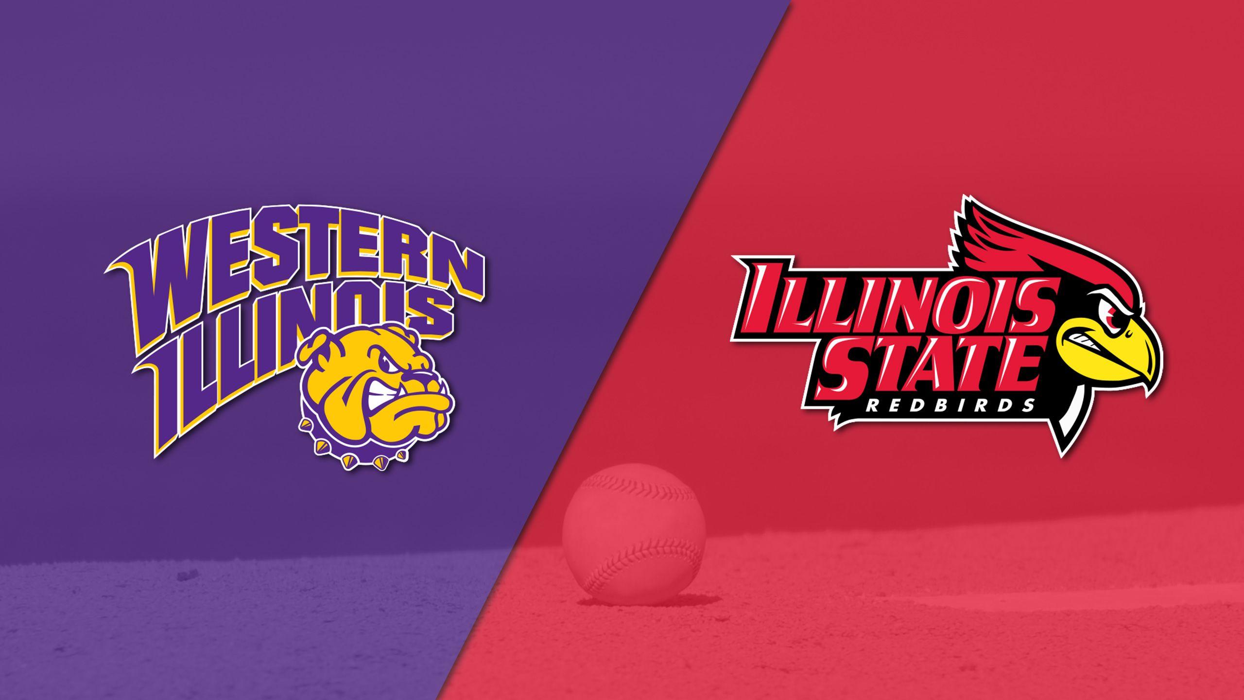 Western Illinois vs. Illinois State (Baseball)