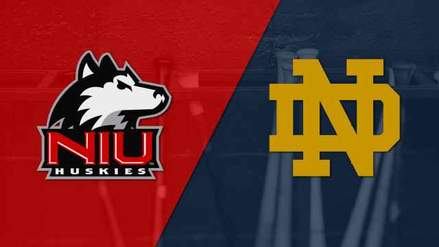 Northern Illinois vs. Notre Dame (Baseball)