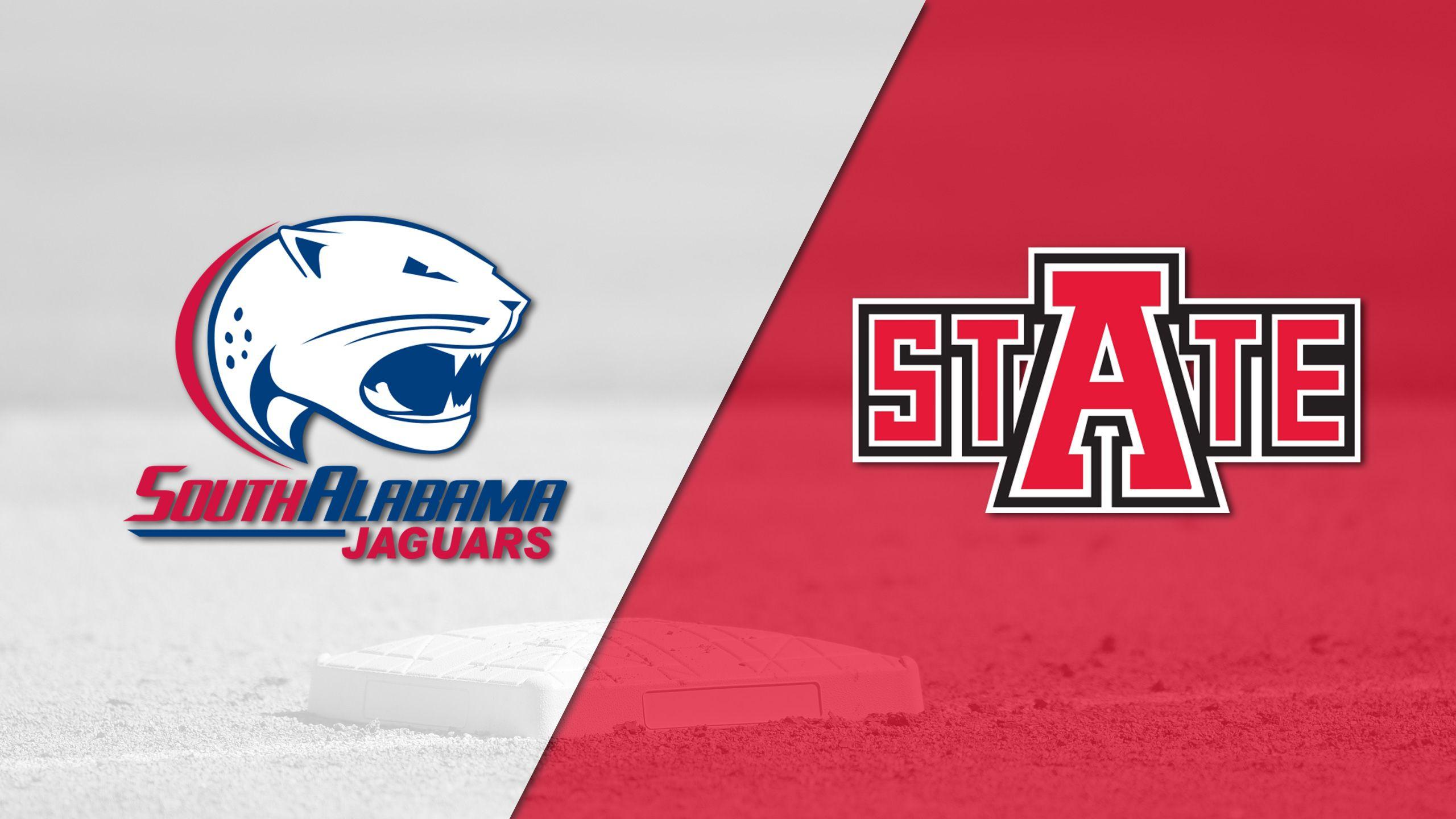 South Alabama vs. Arkansas State (Baseball)