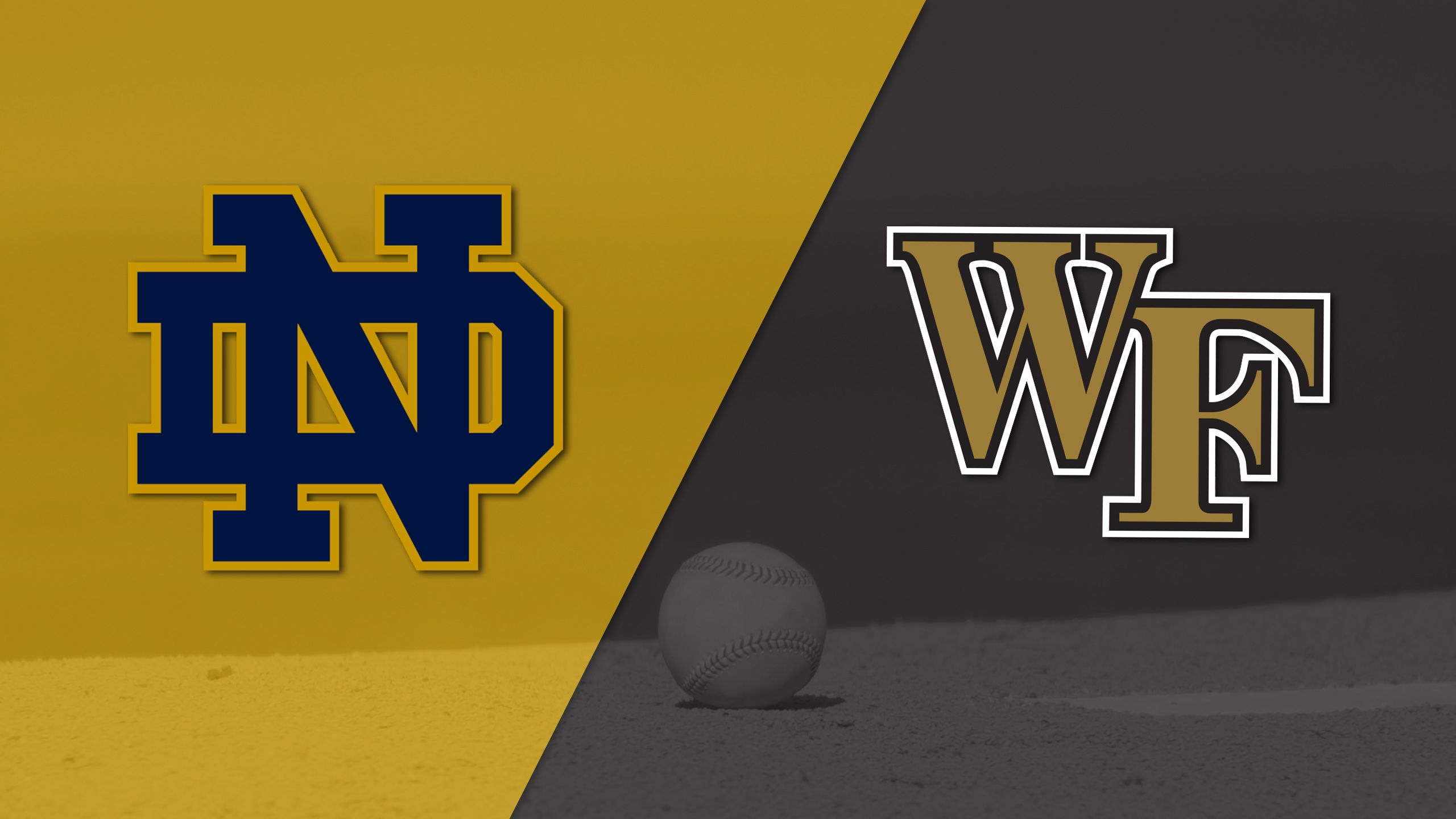 Notre Dame vs. #22 Wake Forest (Baseball)