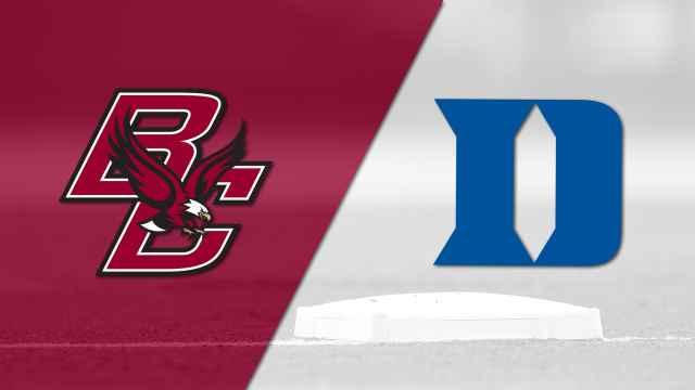 Boston College vs. Duke (Baseball)
