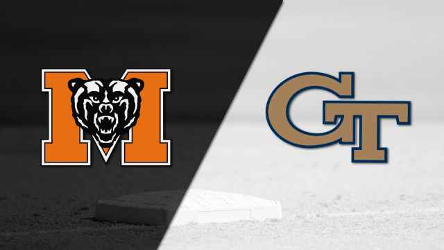 Mercer vs. Georgia Tech (Baseball)