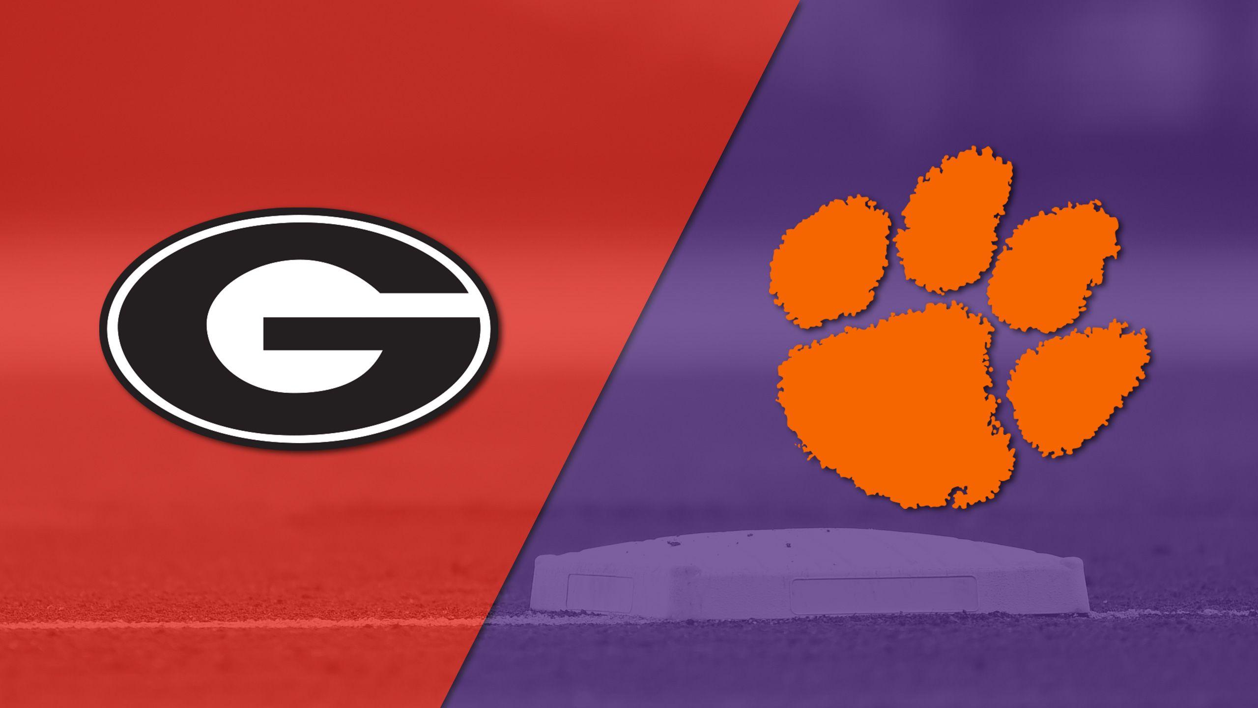 Georgia vs. #4 Clemson (Baseball)