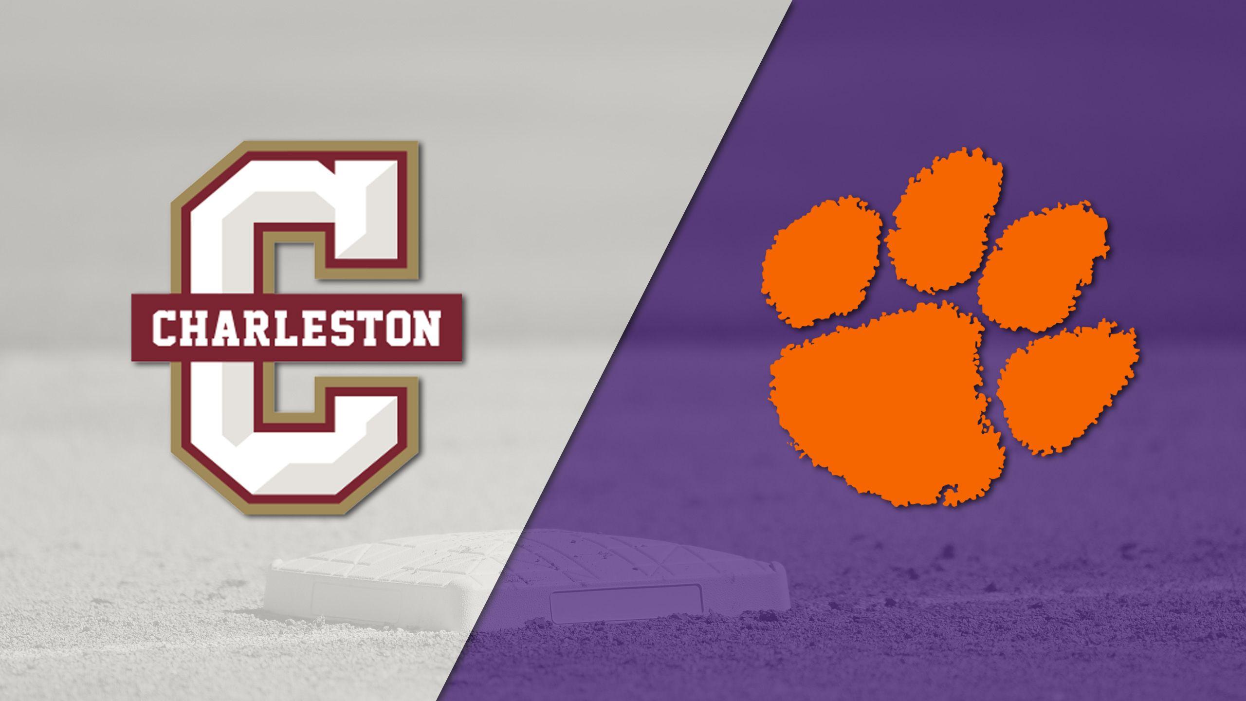College of Charleston vs. #3 Clemson (Baseball)