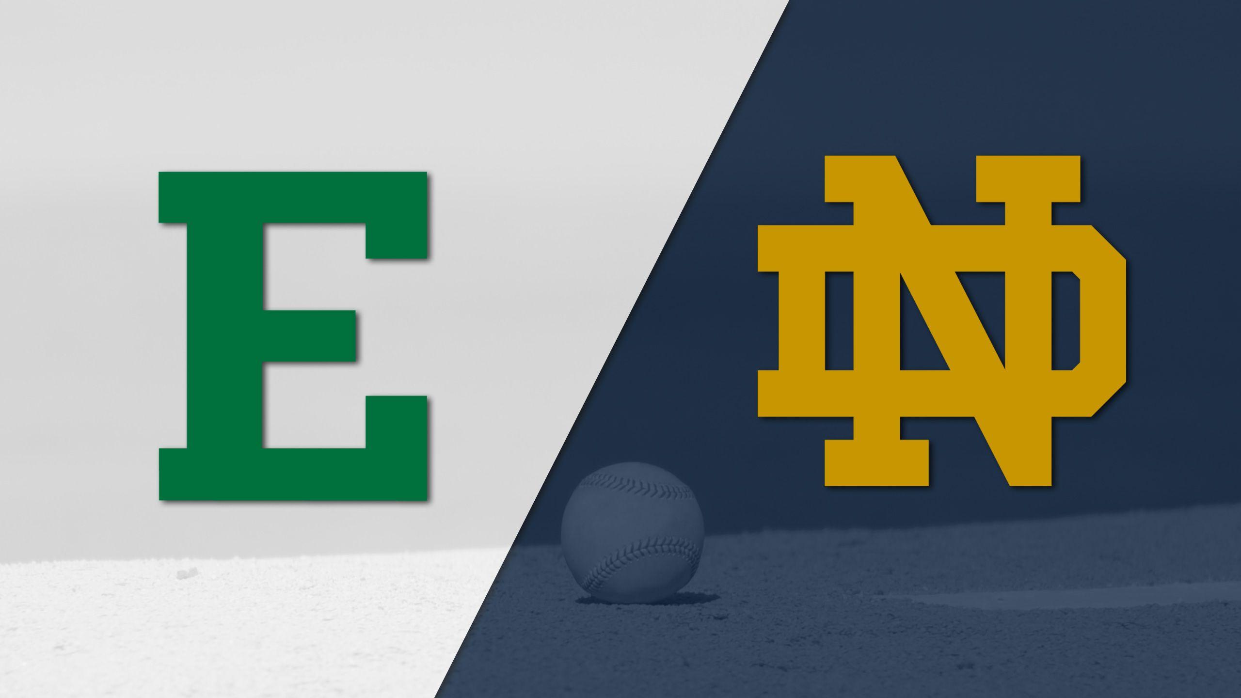 Eastern Michigan vs. Notre Dame (Baseball)