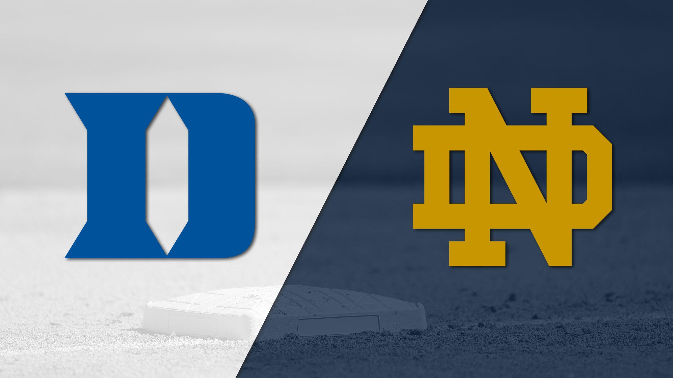 Duke vs. Notre Dame (Baseball)