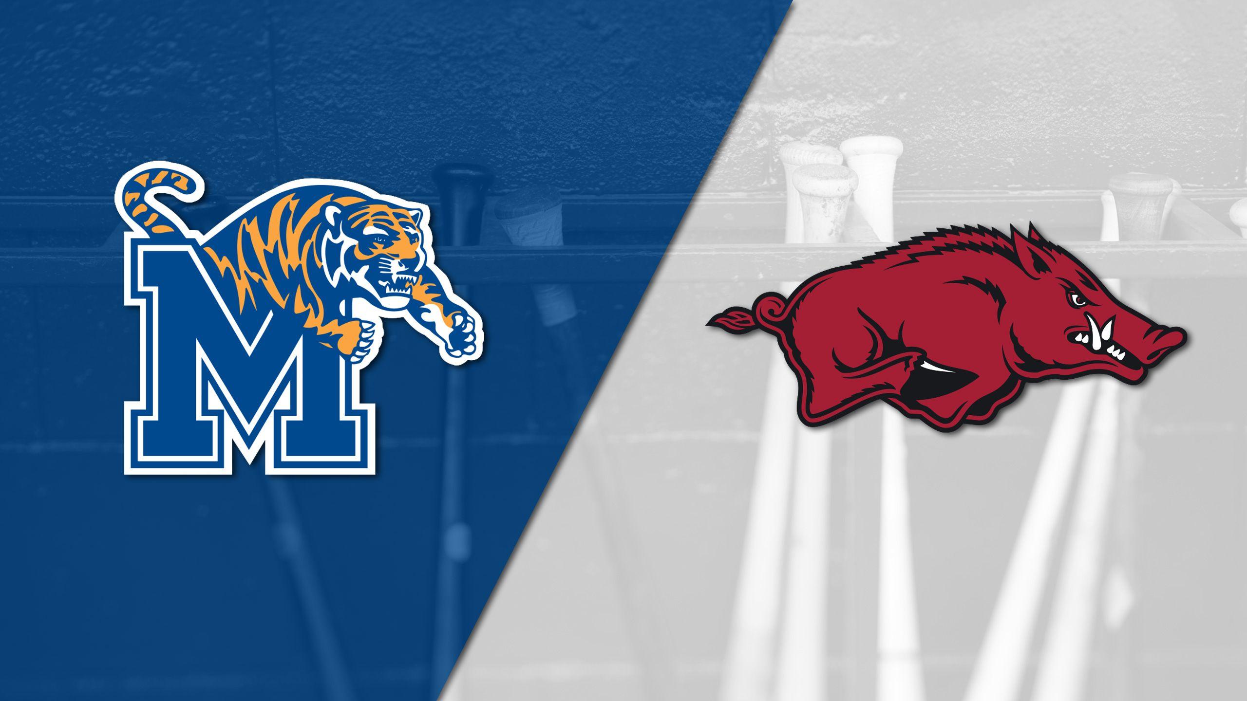 Memphis vs. #14 Arkansas (Baseball)