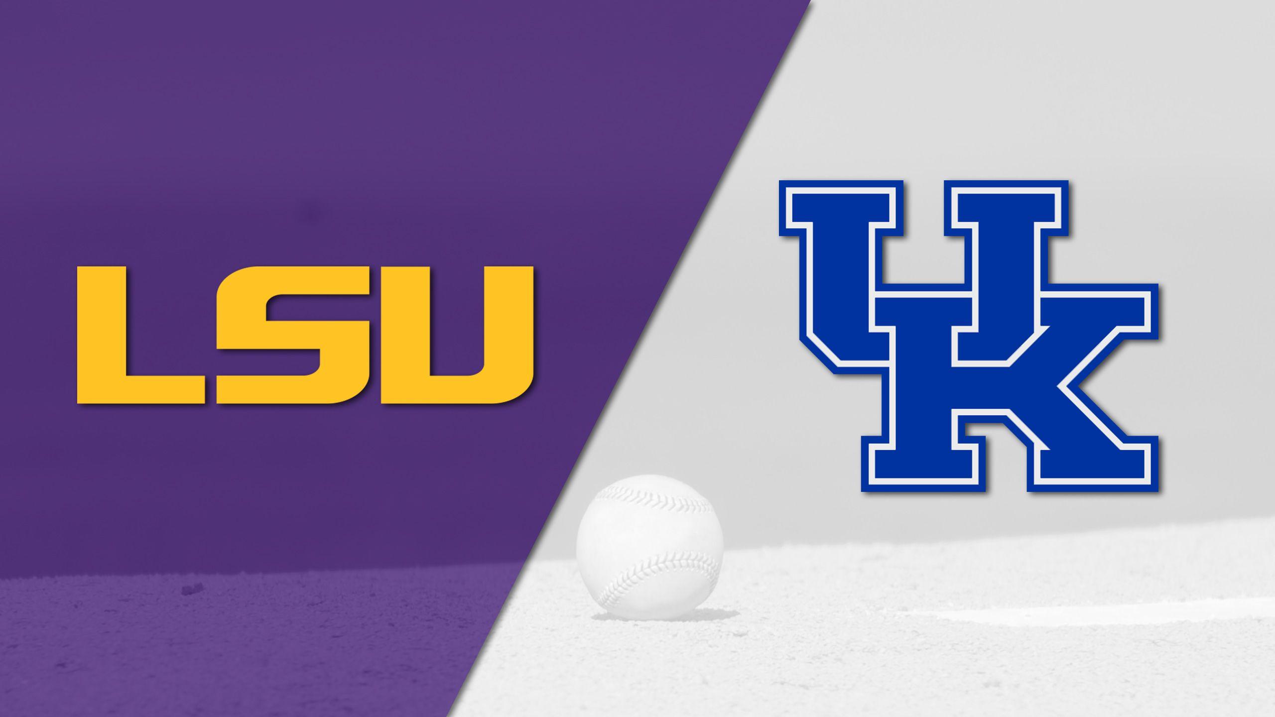 #8 LSU vs. #13 Kentucky (Baseball)