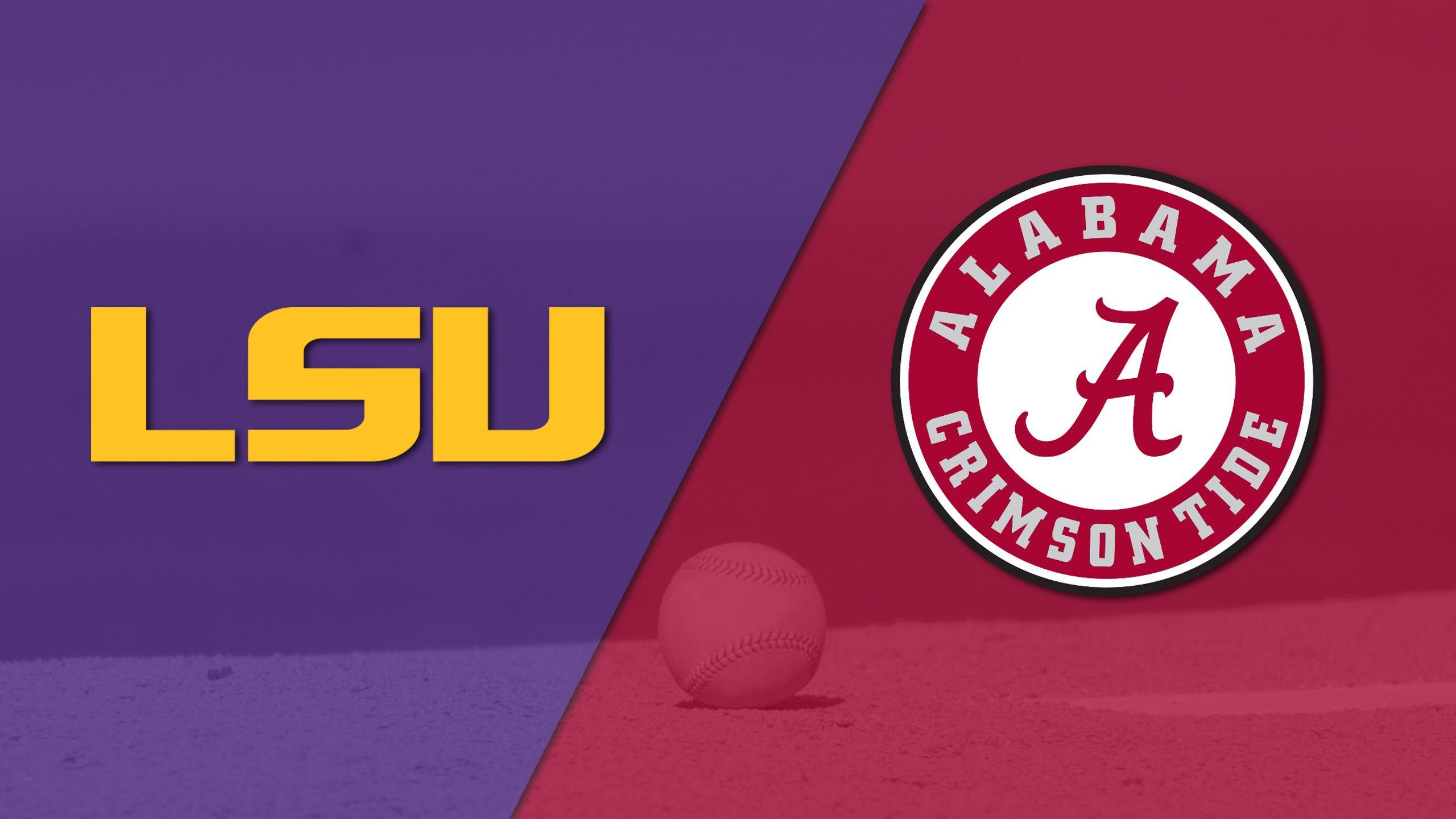 #11 LSU vs. Alabama (Baseball)
