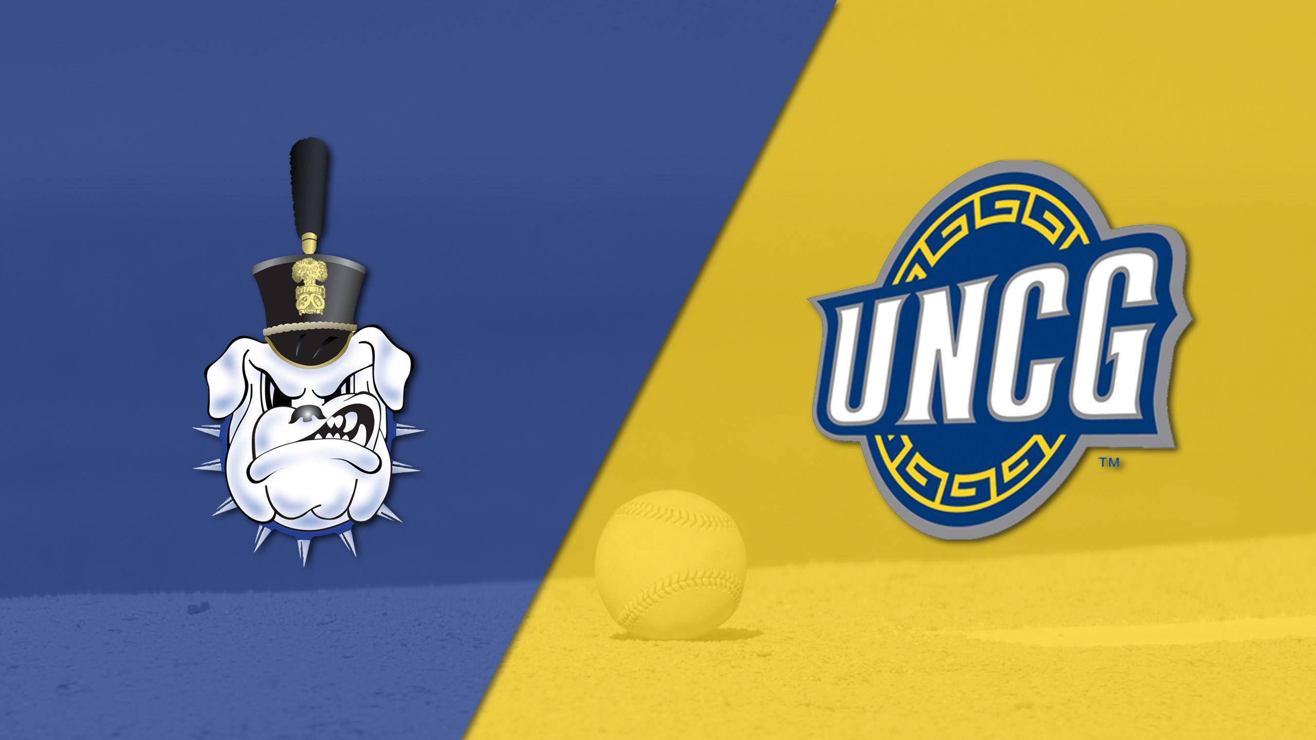 The Citadel vs. UNC Greensboro (Baseball)