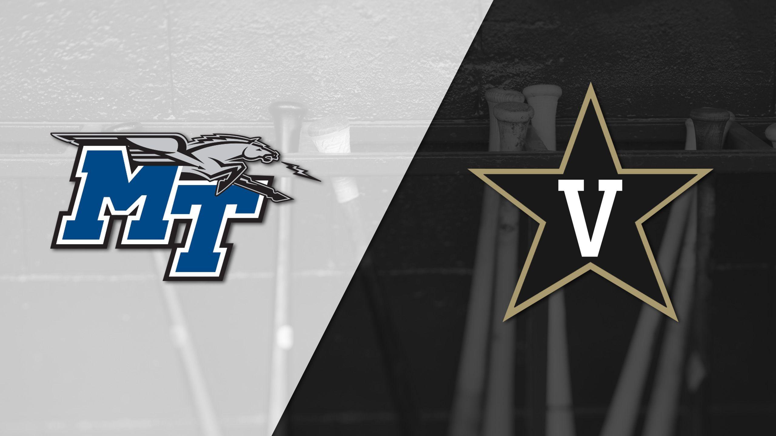 Middle Tennessee vs. Vanderbilt (Baseball)