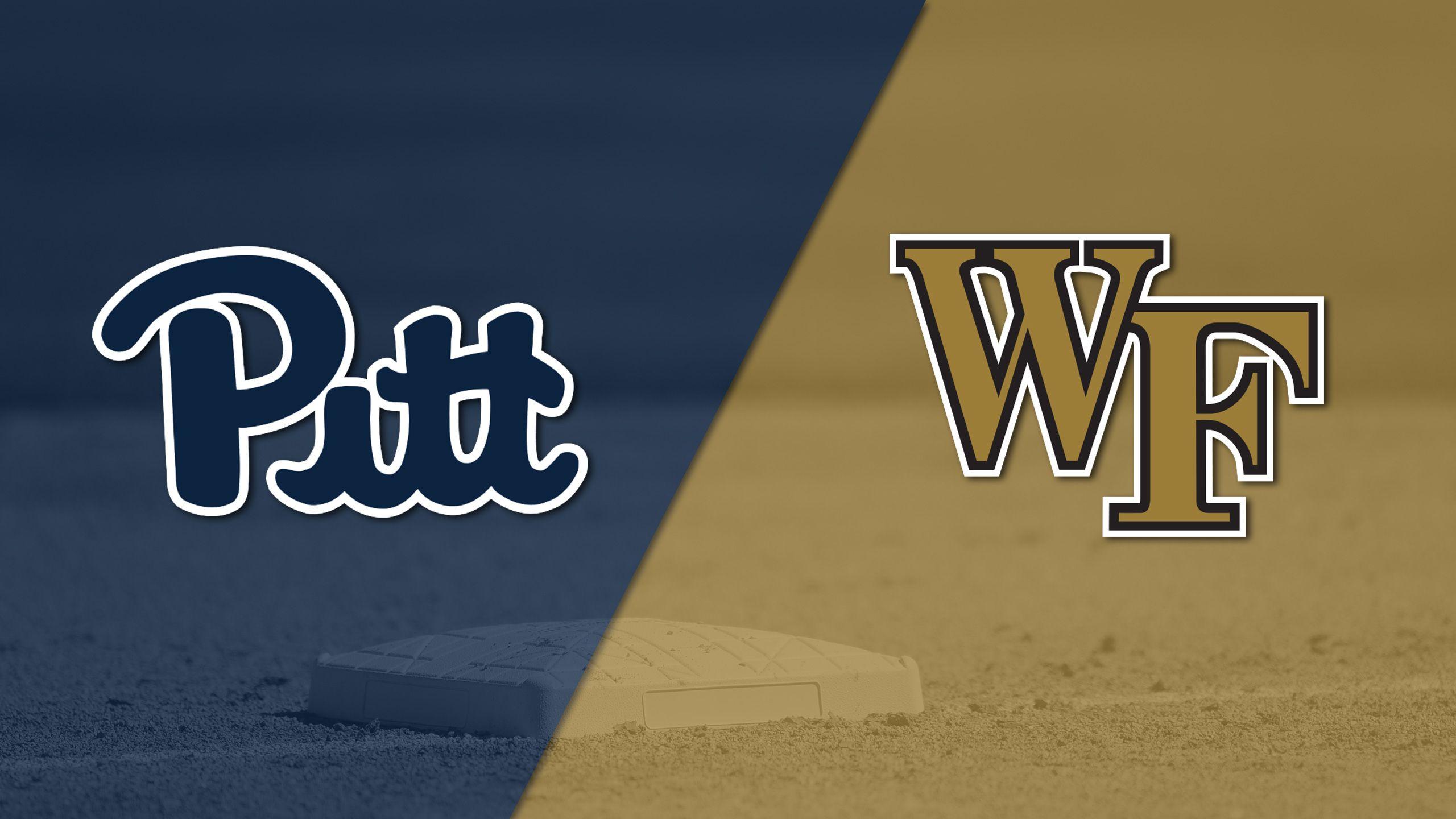 Pittsburgh vs. #18 Wake Forest (Baseball)