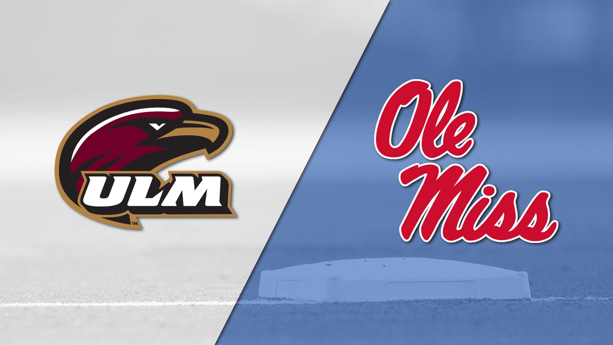 Louisiana-Monroe vs. Ole Miss (Baseball)