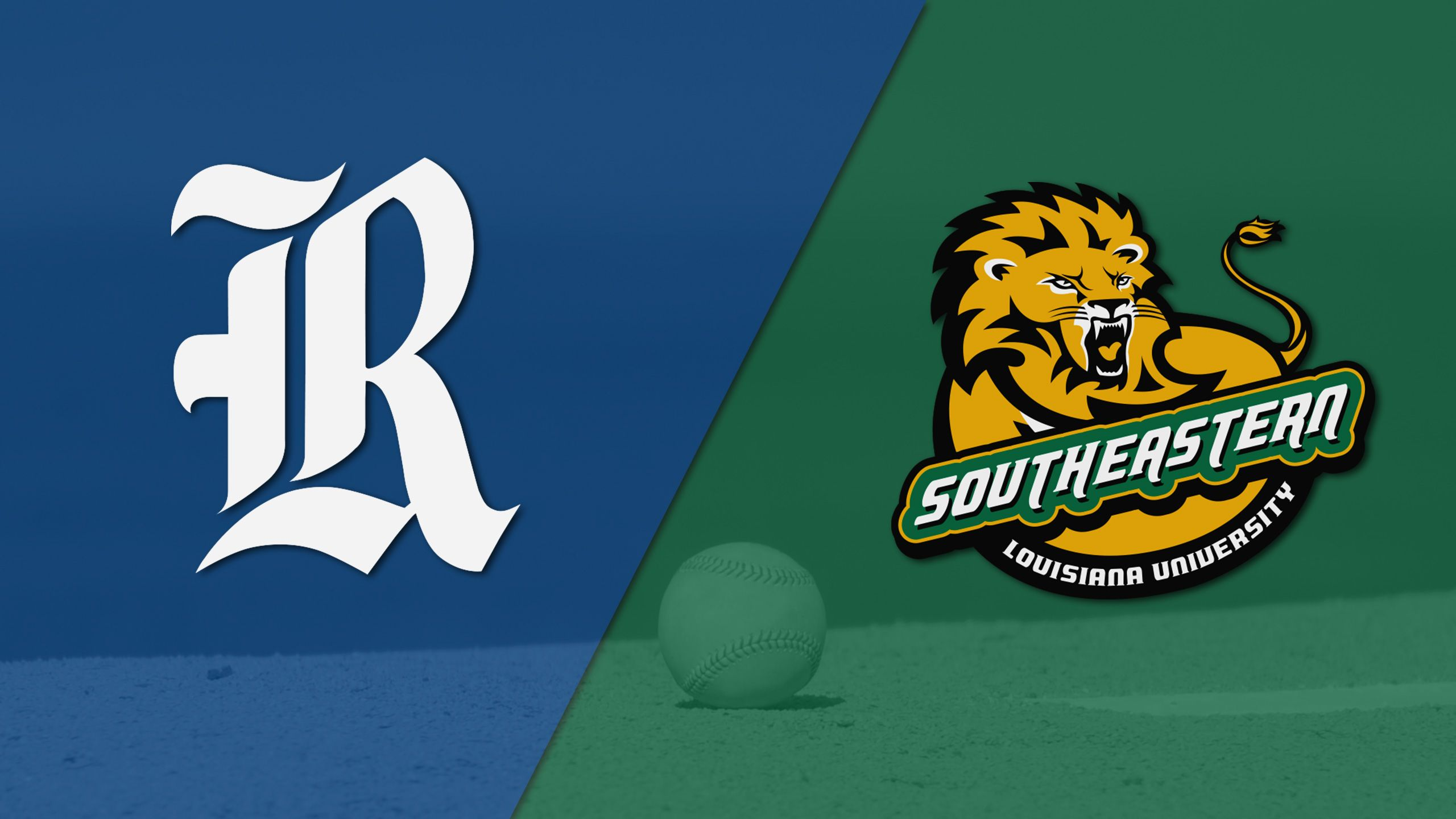 Rice vs. SE Louisiana (Site 8 / Game 2) (NCAA Baseball Championship)