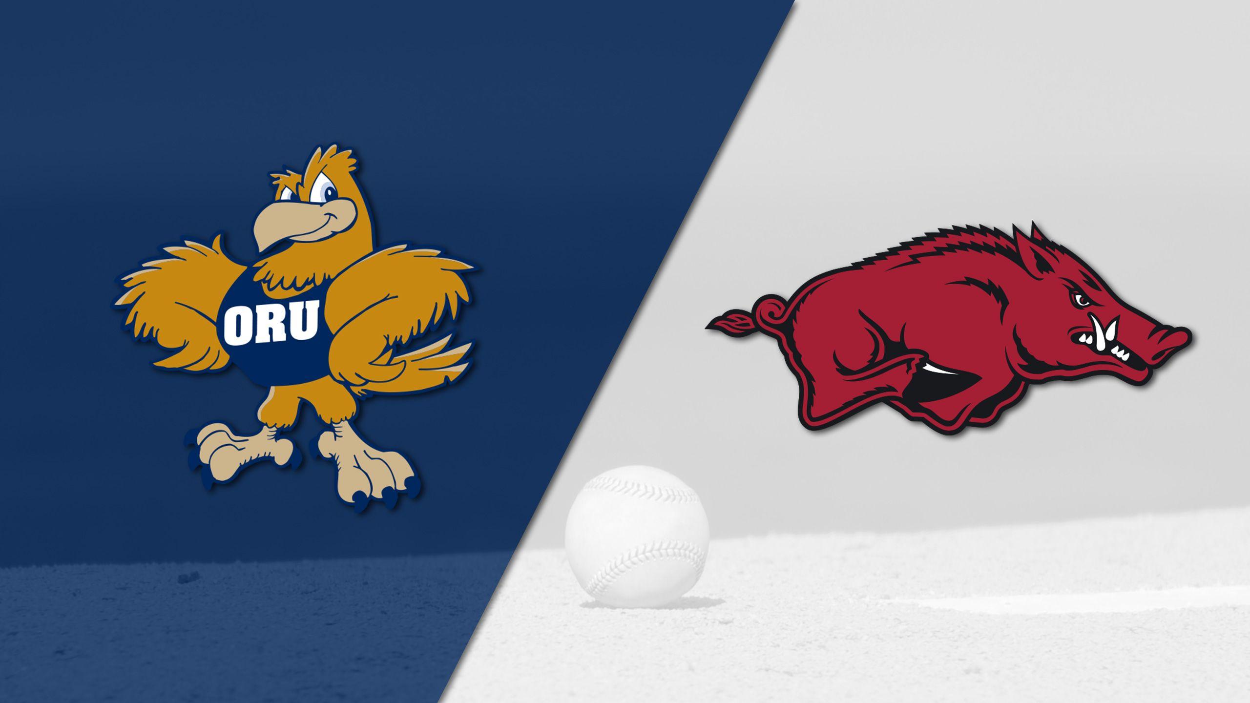 Oral Roberts vs. Arkansas (Site 14 / Game 2) (NCAA Baseball Championship)