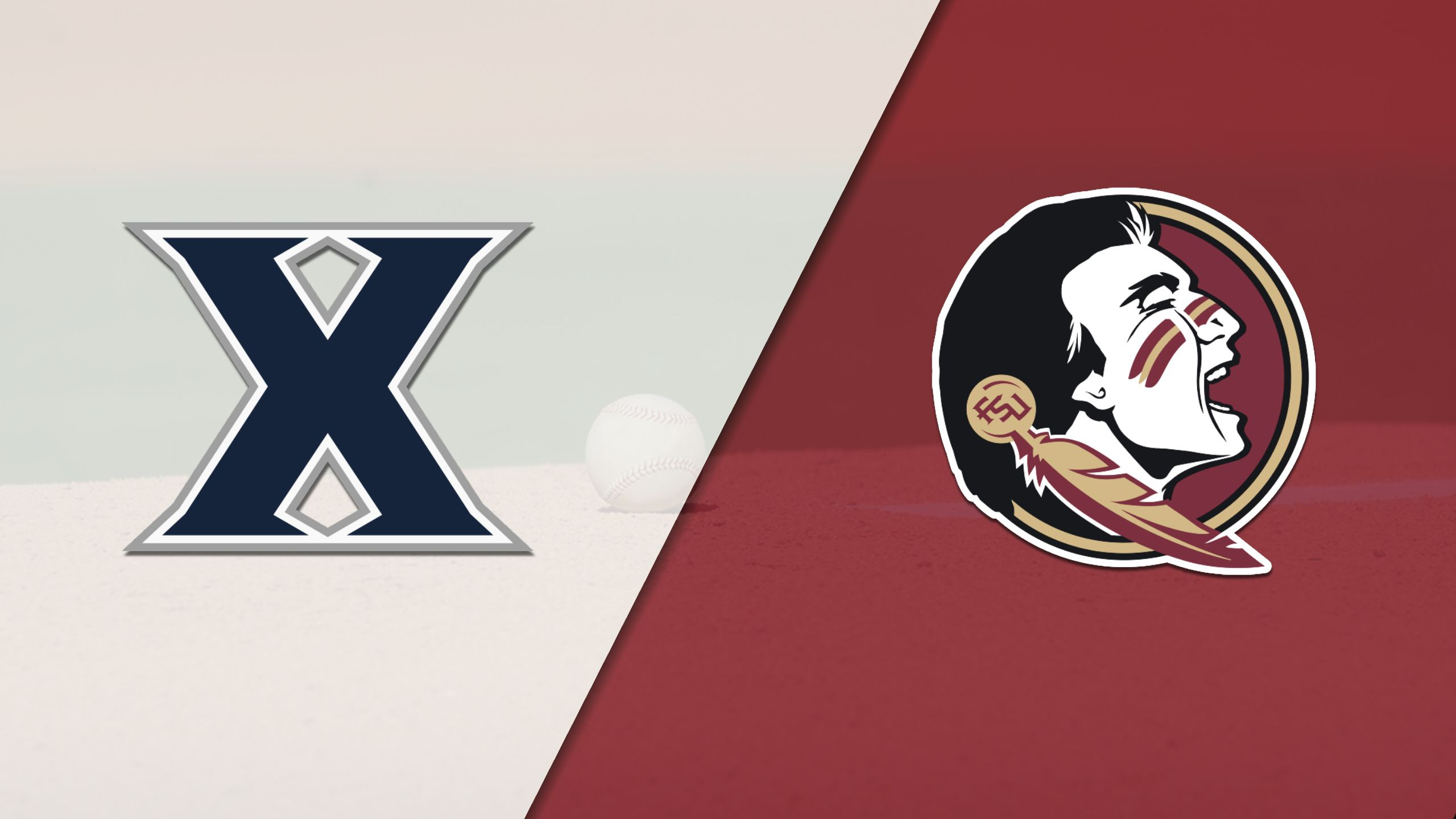 Xavier vs. #5 Florida State (Baseball)